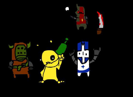 Castle Crashers and Alien