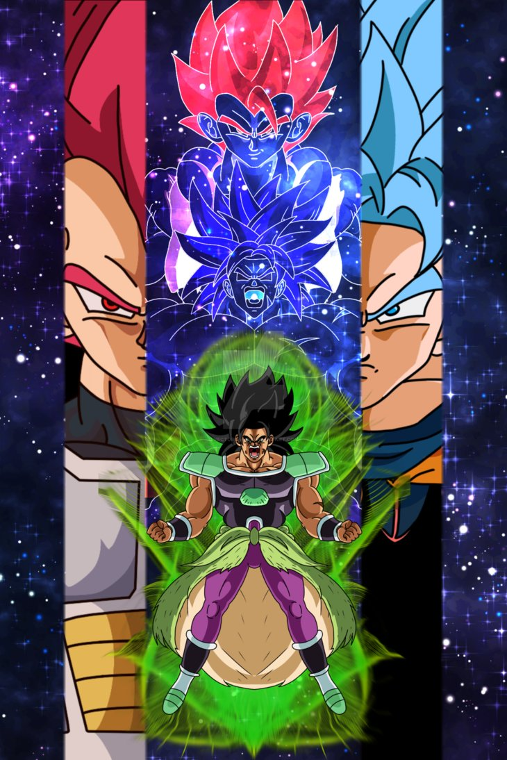 Dragon Ball Super Broly Poster By Vitorrafaellealcarva On Newgrounds