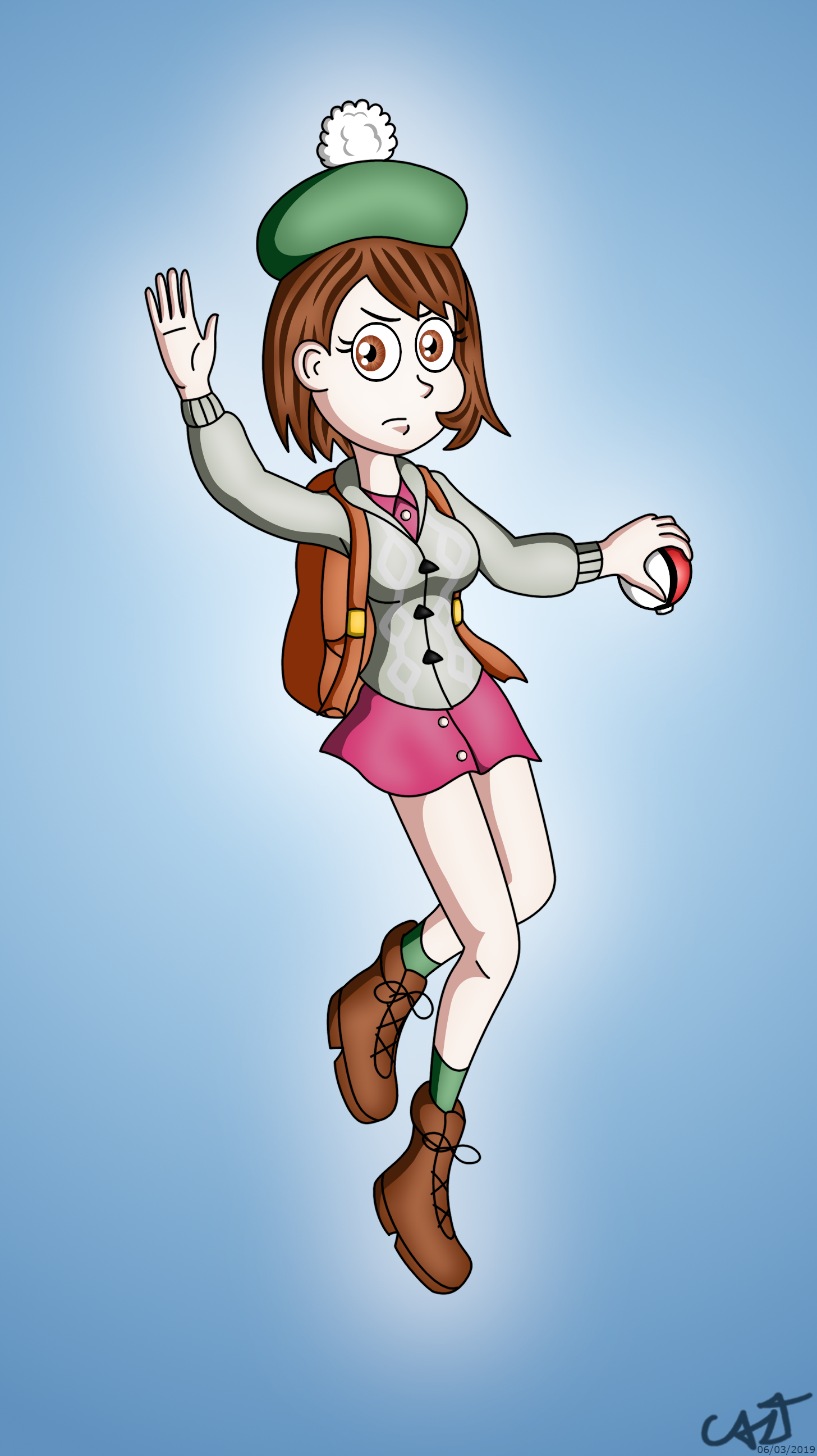 Pokemon Sword And Shield S Girl By Thecaztman On Newgrounds