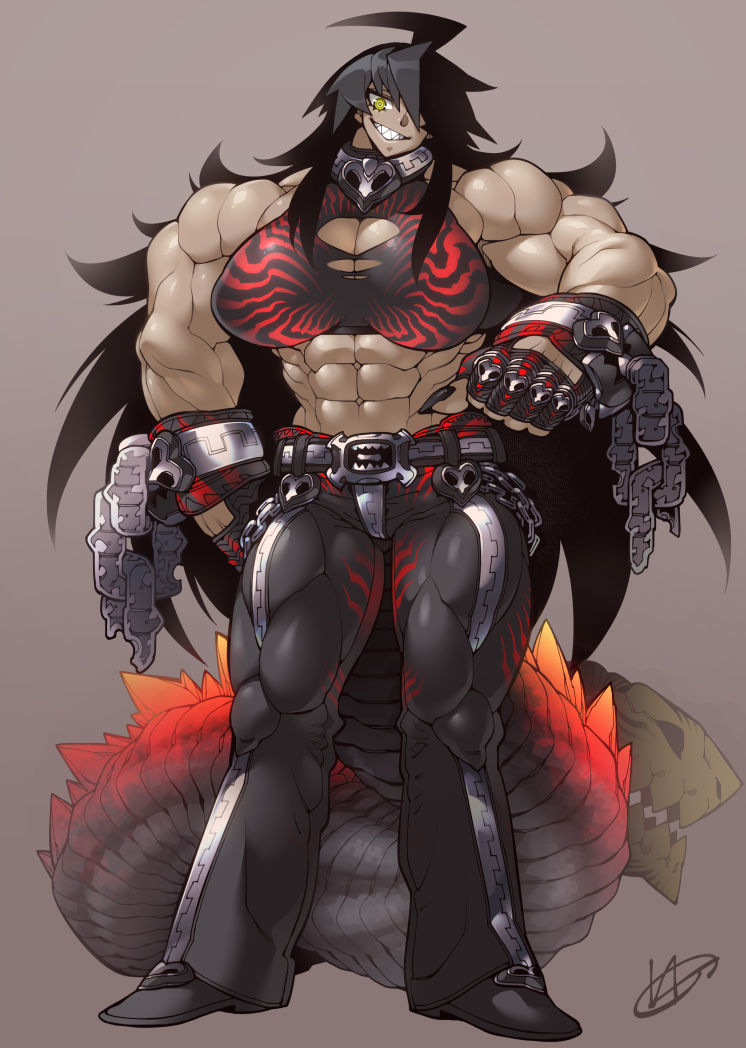 Commission - Shin-Godzilla (anthro)