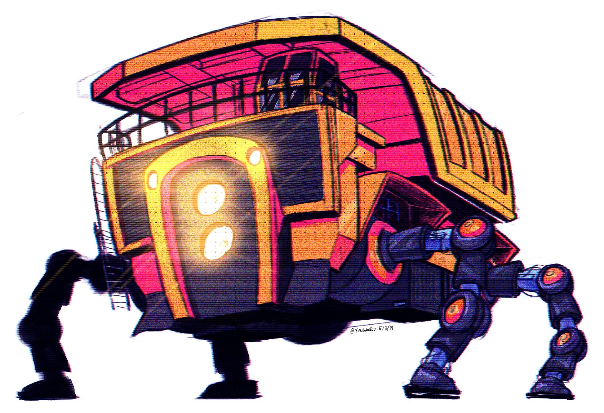 dump truck robot
