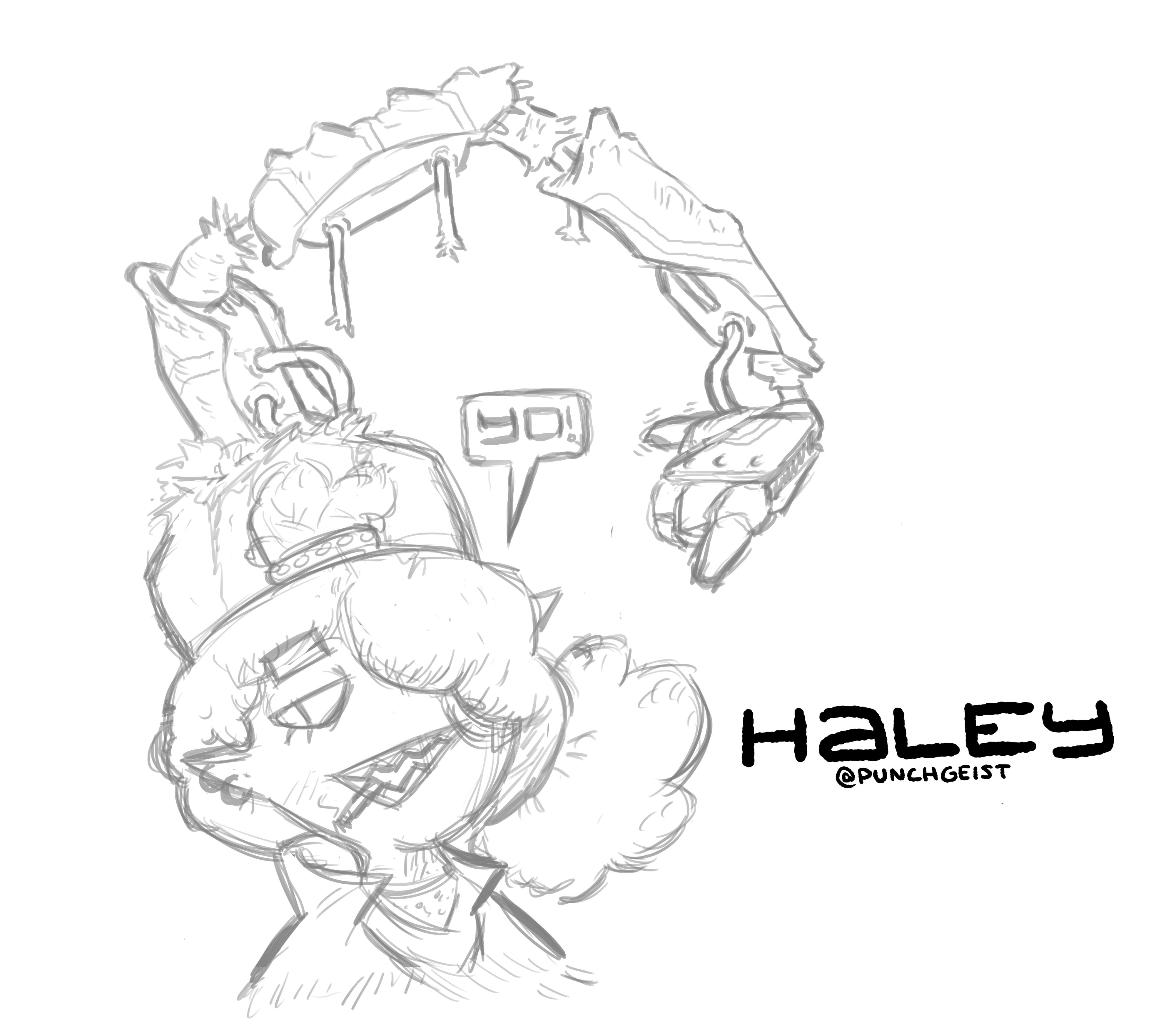 Haley - WIP