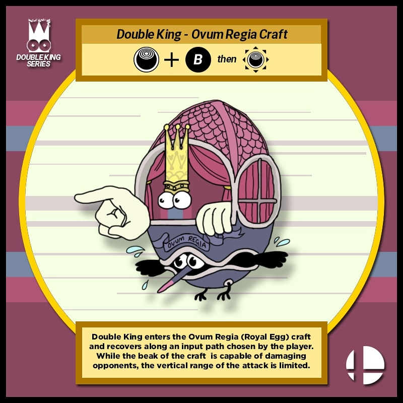 Double King Smash Moveset - Up Special