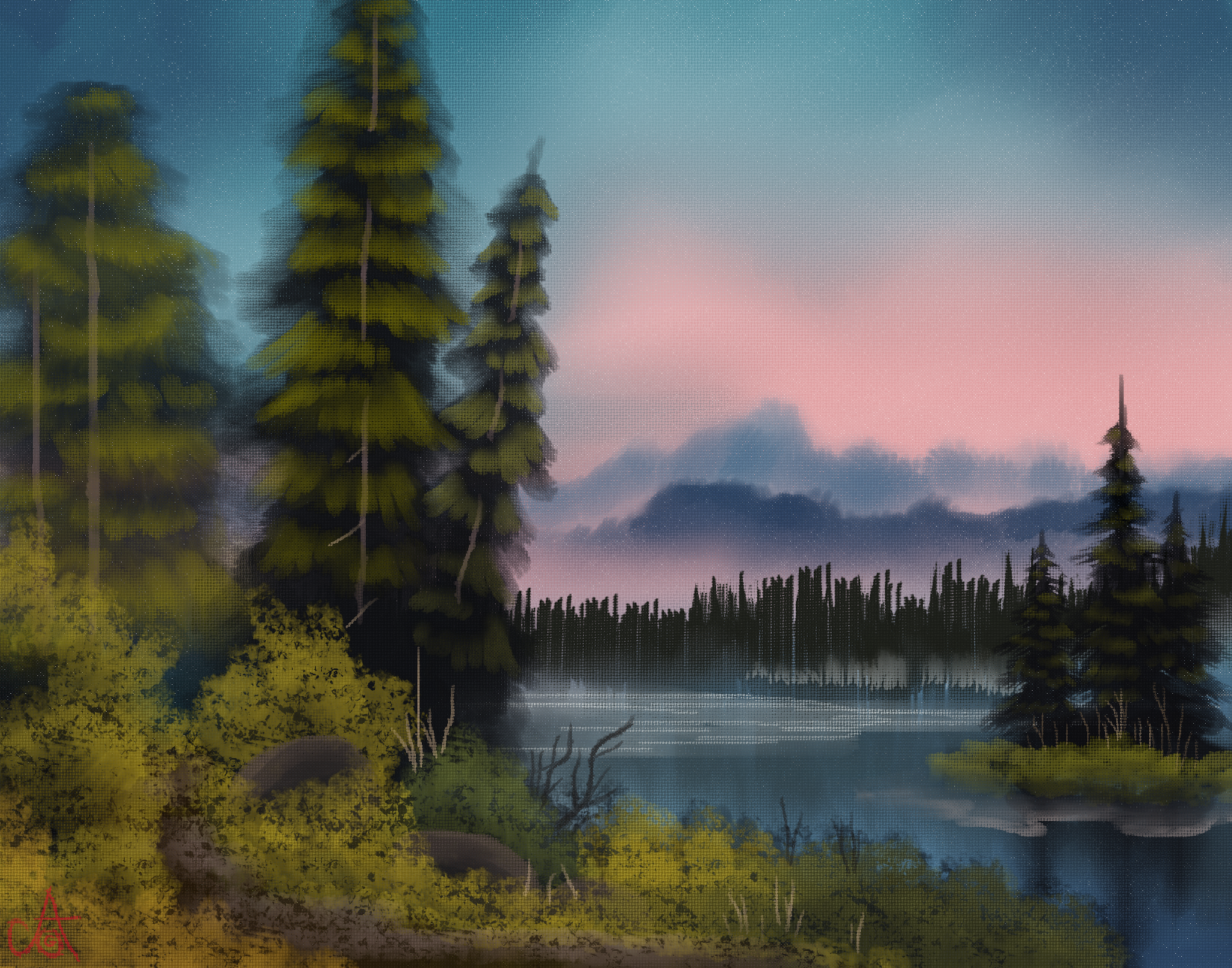 Island In The Wilderness By A-O-G On Newgrounds