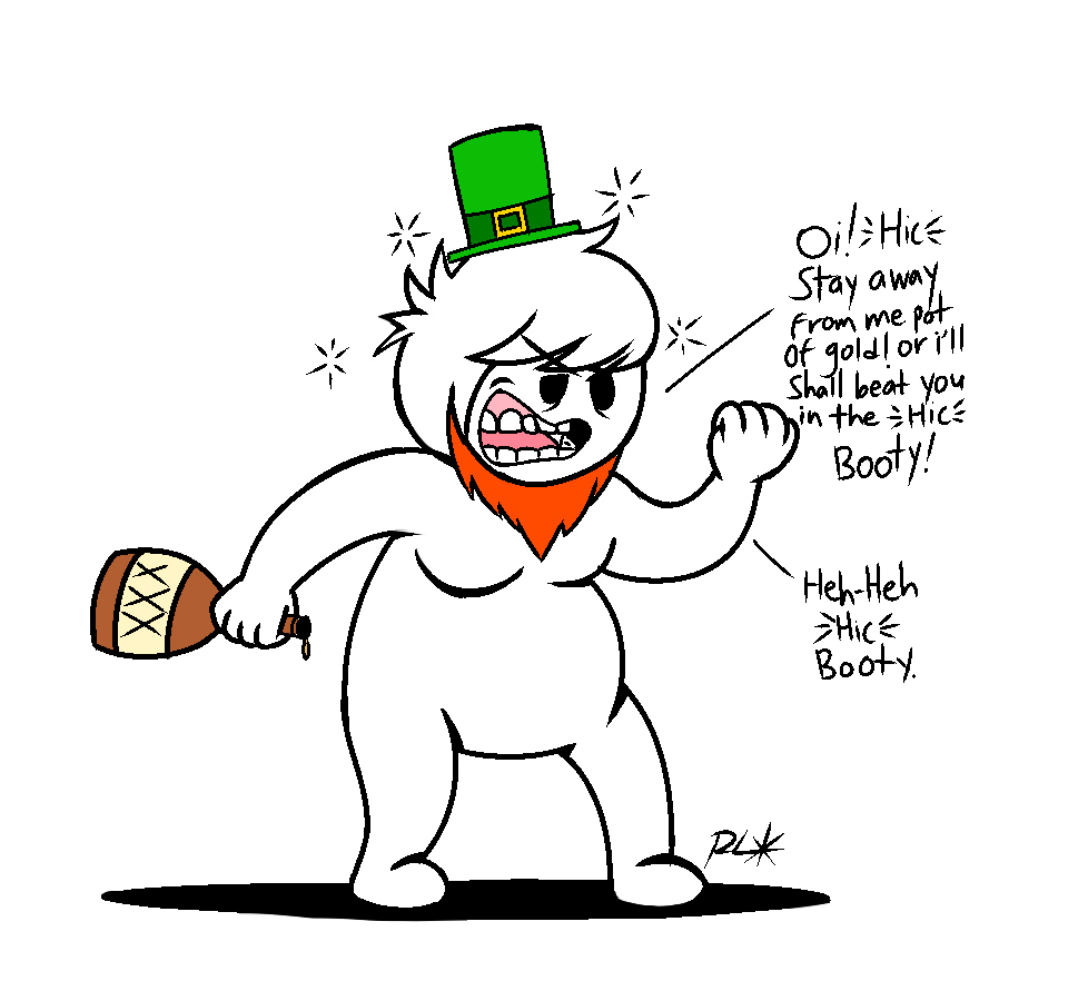 St. Patrick's Day with Oney