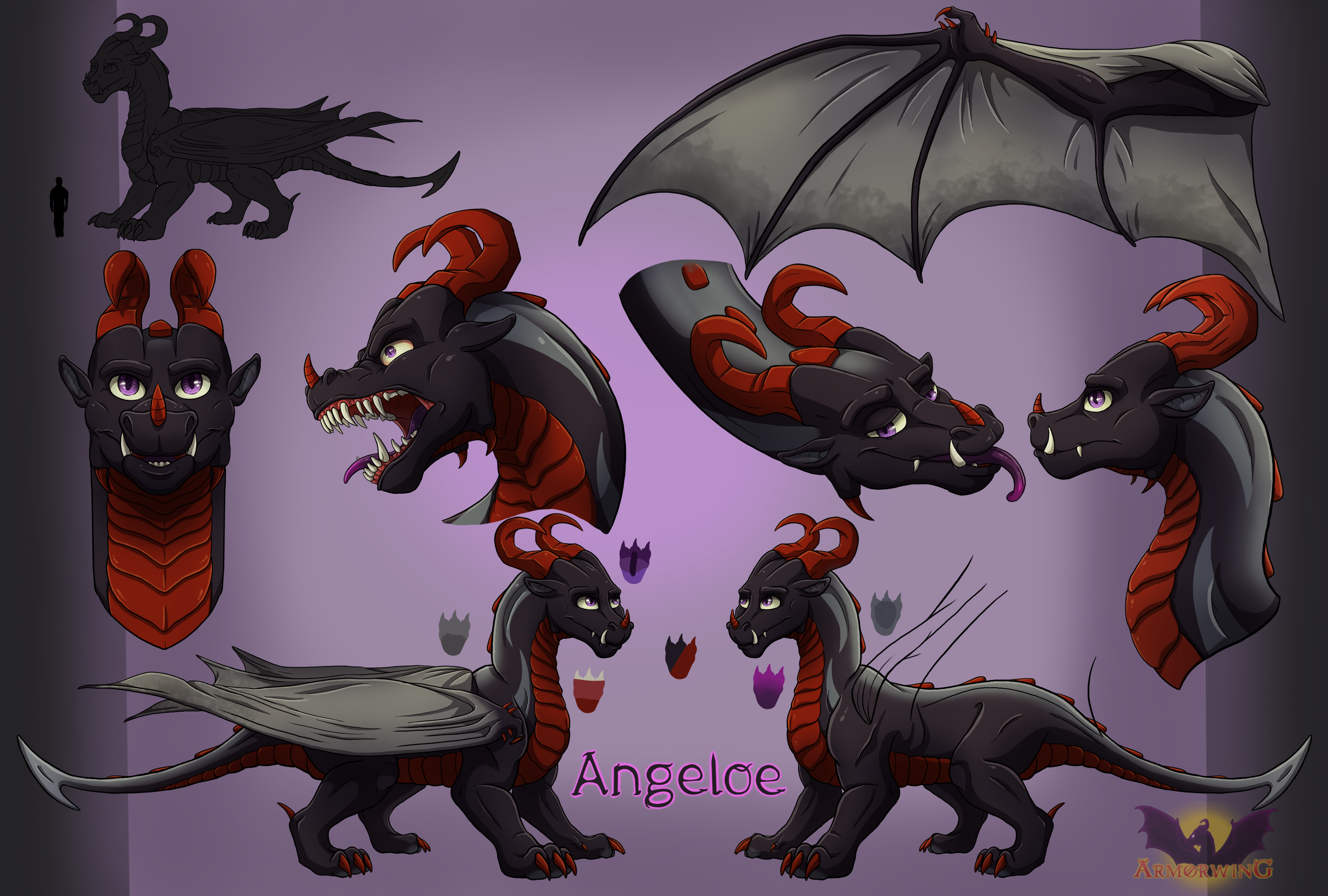 Angeloe - Reference Sheet