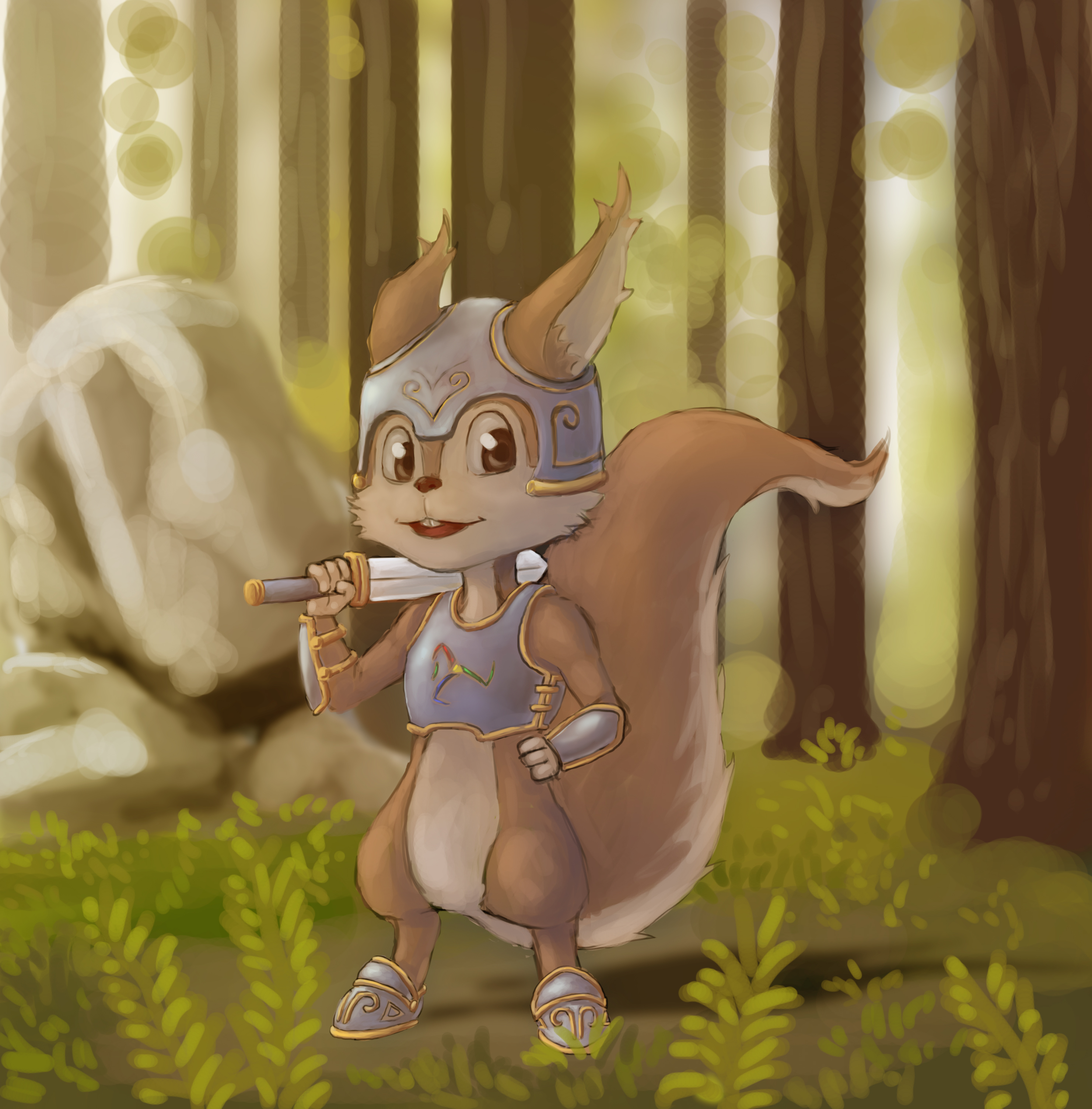 DreyLand - Funy, The squirrel