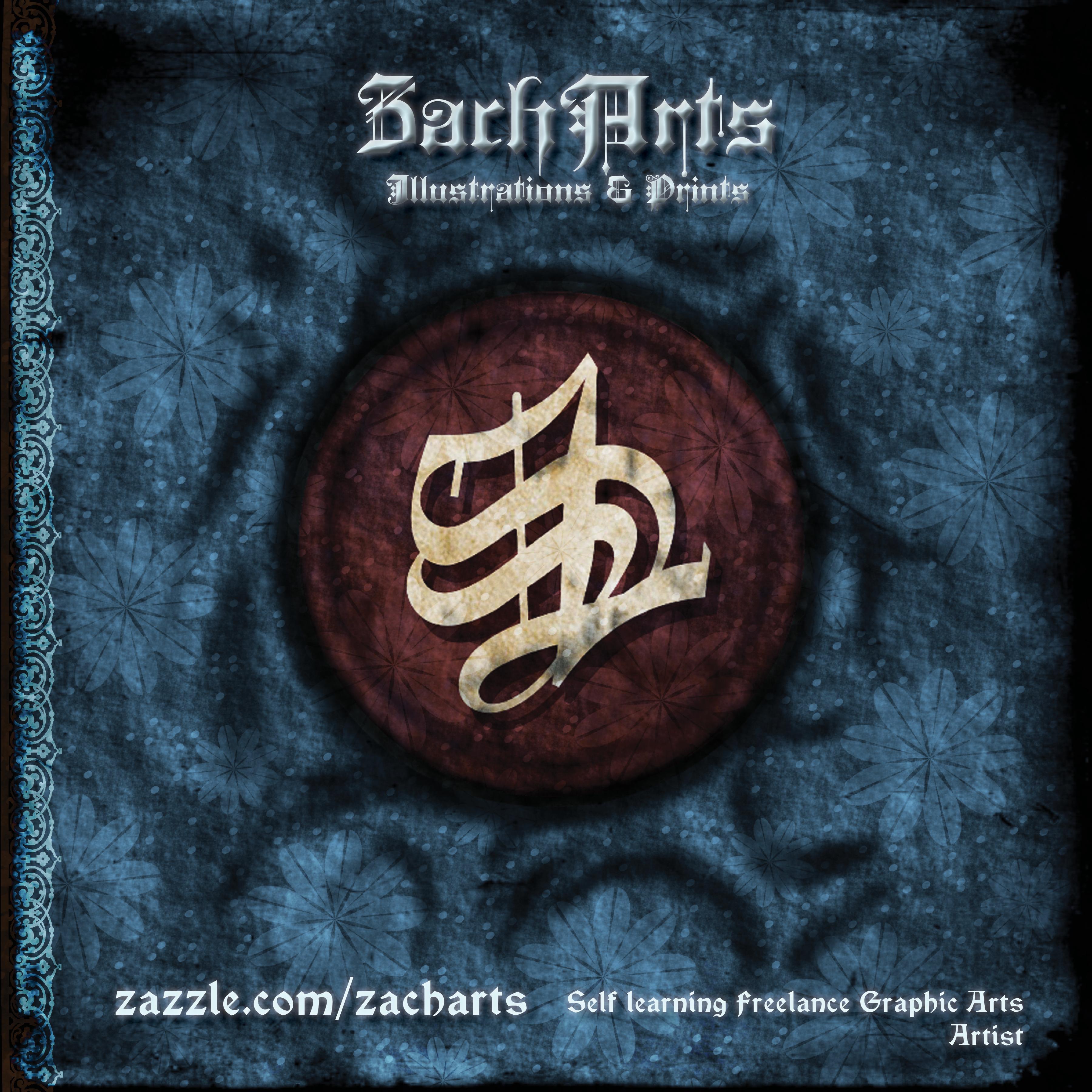PoliZ's ZachArts Store Booklet Cover