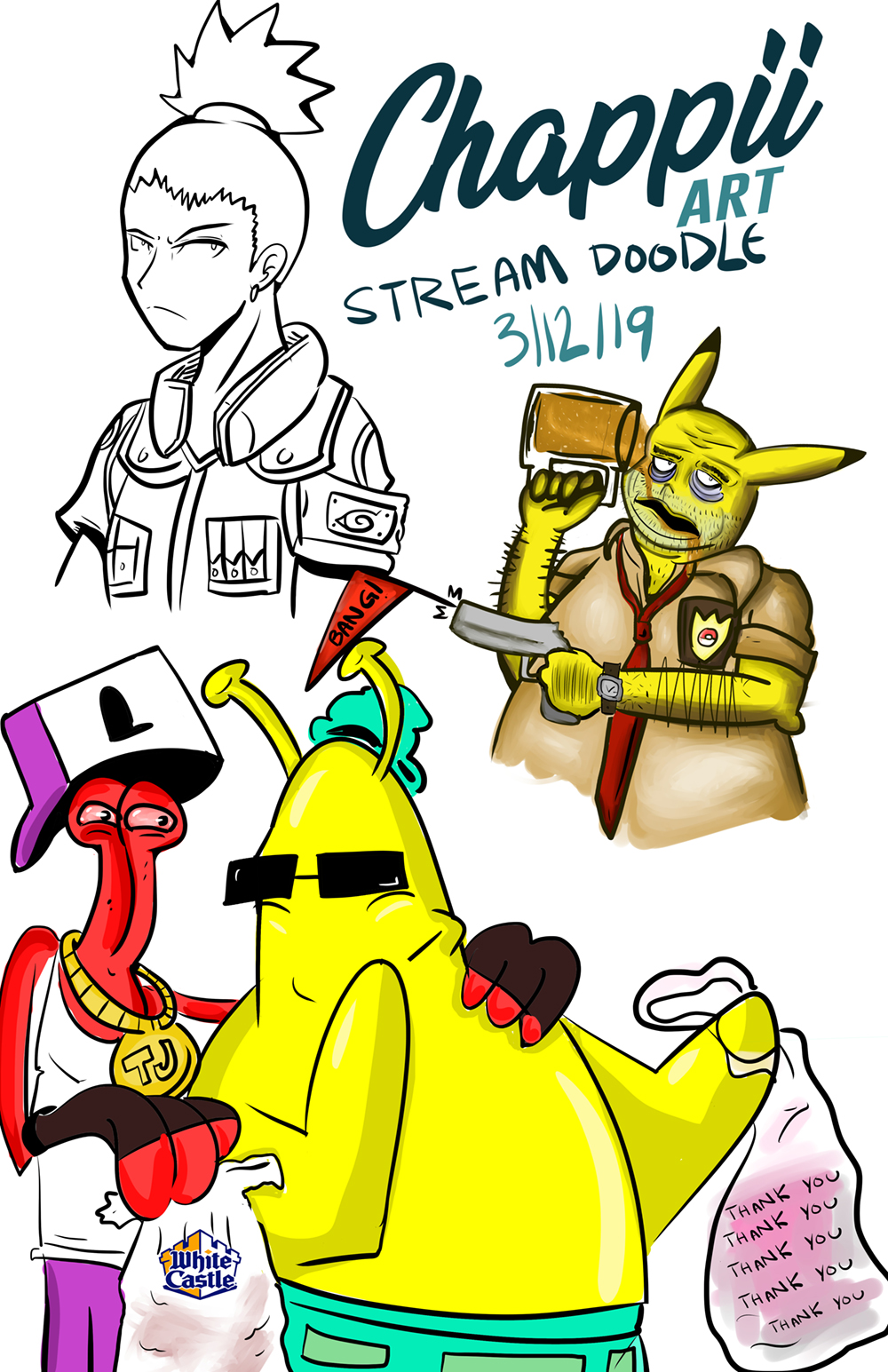 Stream Doodles 3-12-19
