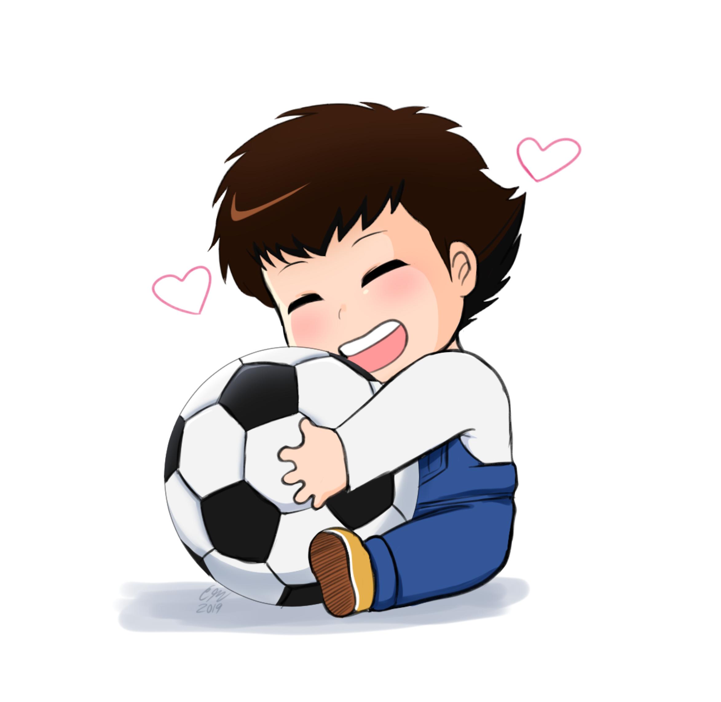 Baby Tsubasa and his Best Friend