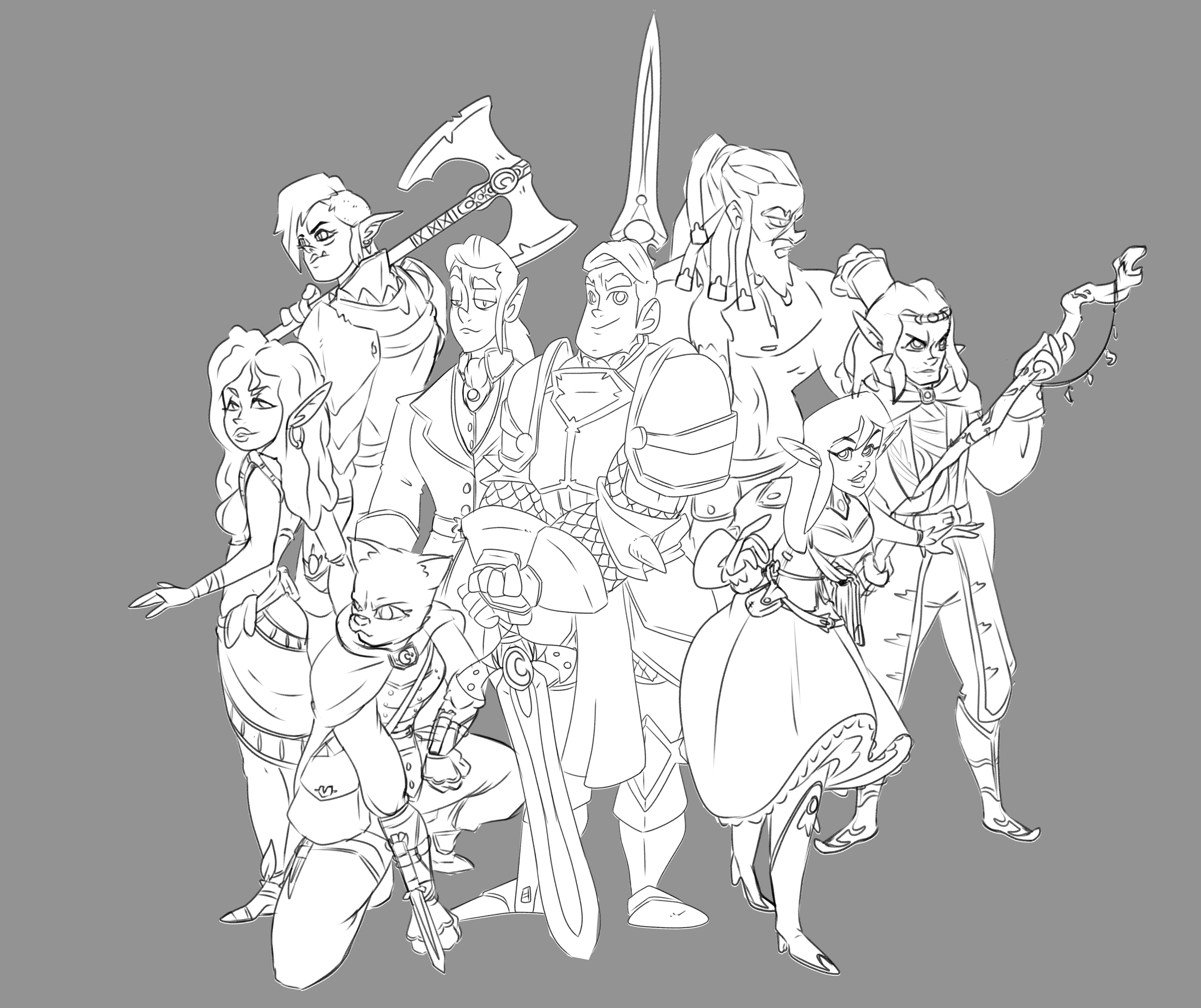 WIP: New DnD Group!