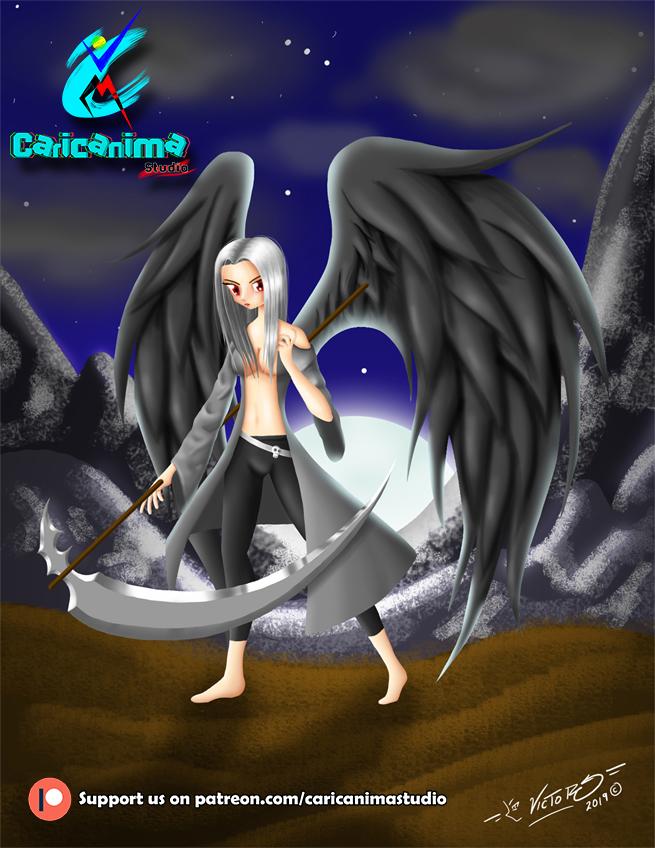 Dark Angel   Caricanima Studio
