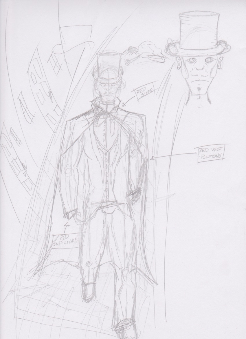 Musical Character #1 Sketch