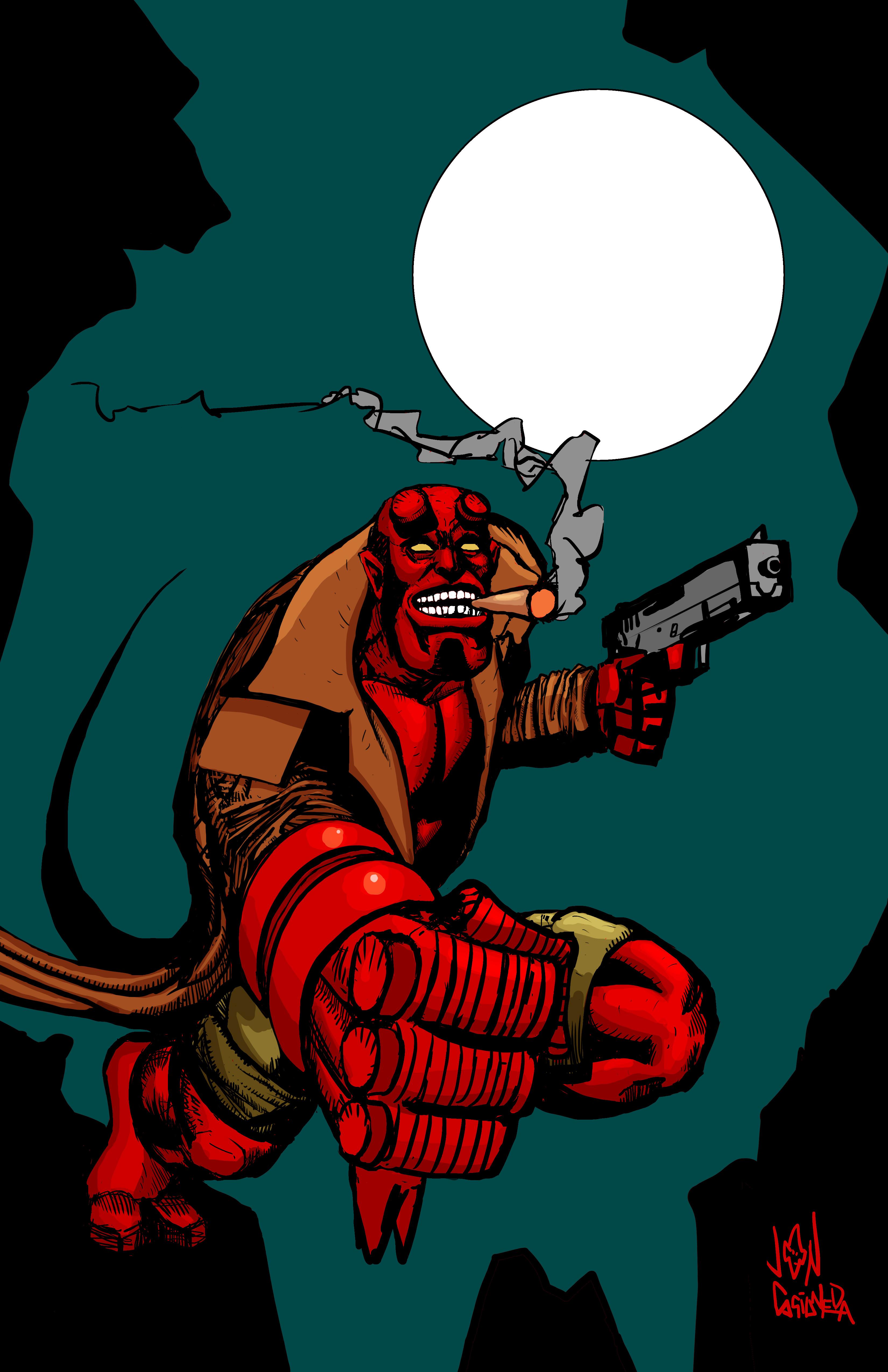 Hellboy Full Moon