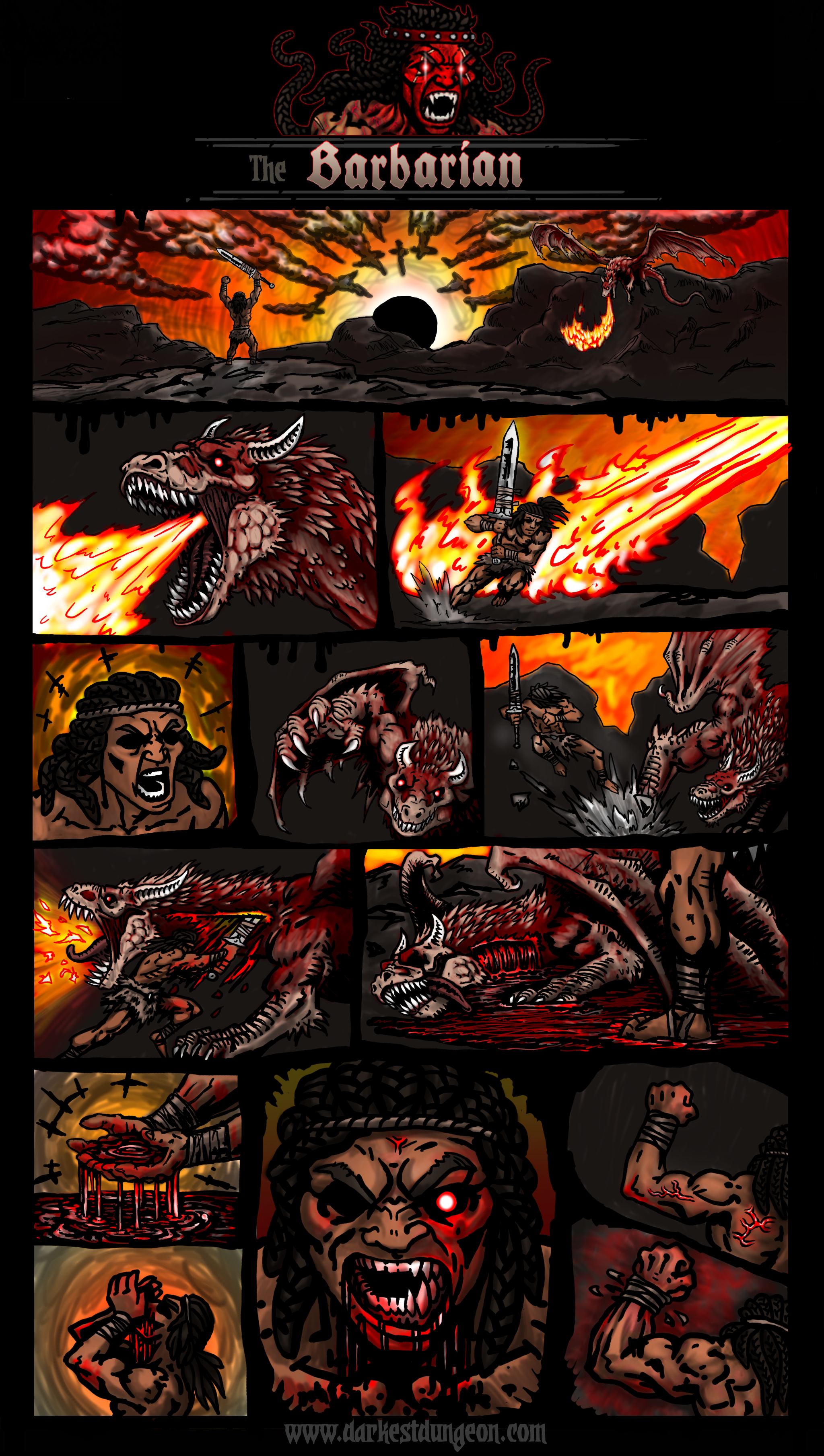 The Barbarian (mod comic) by ahmonza on Newgrounds