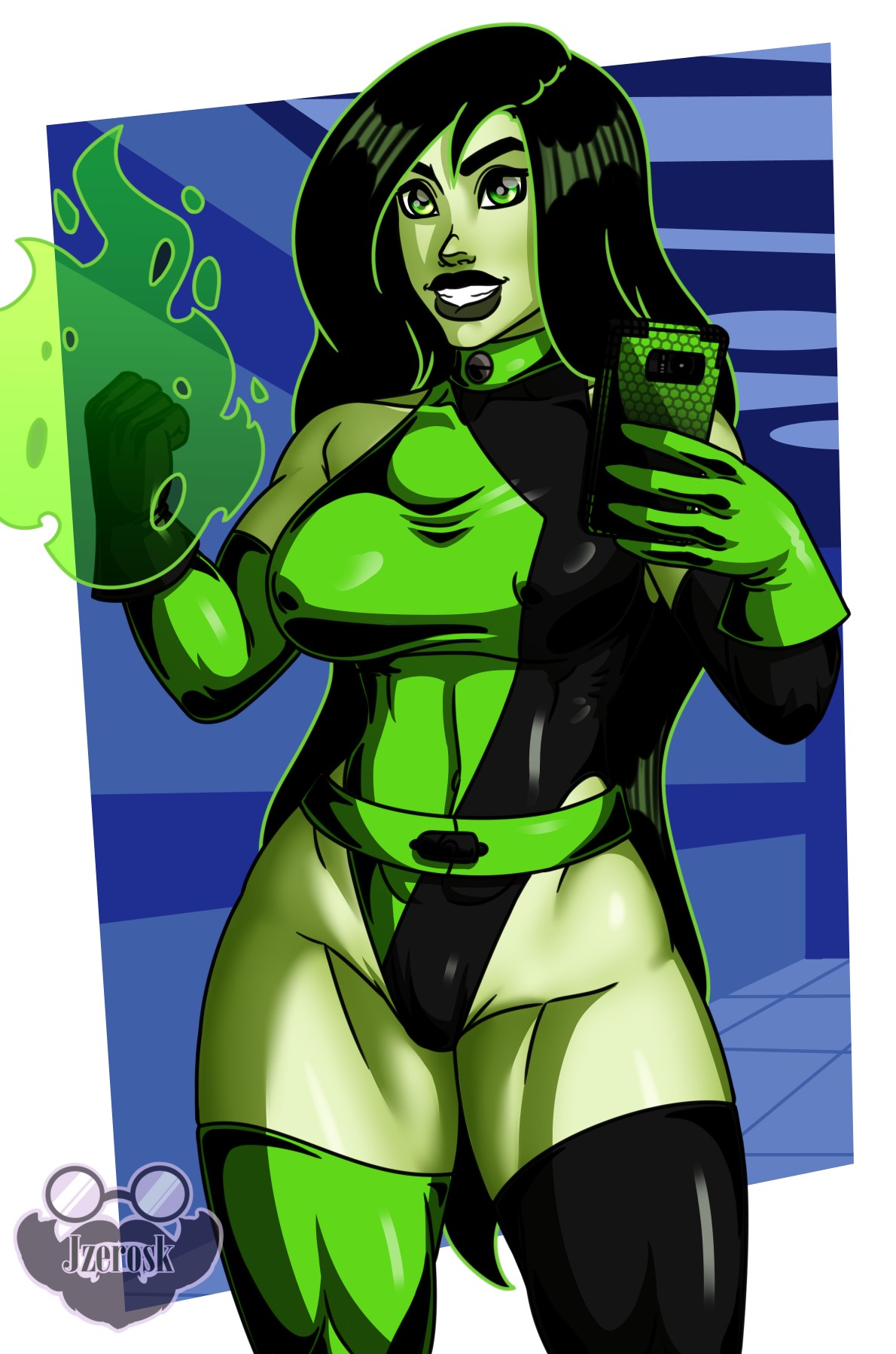 Shego's New Suit