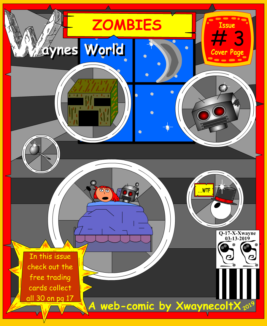 Waynes World Cover PG #3 (Zombies)