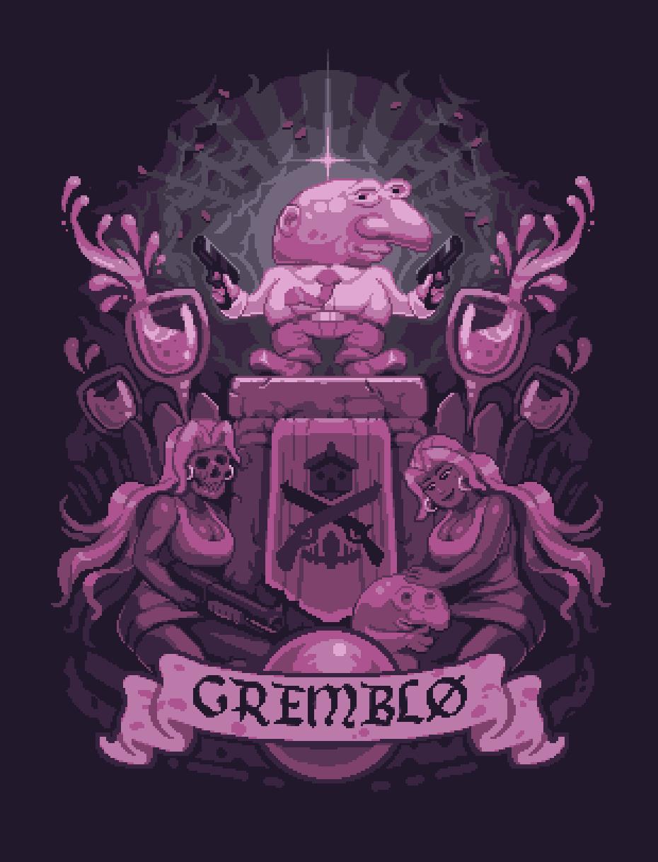 Gremblo Print