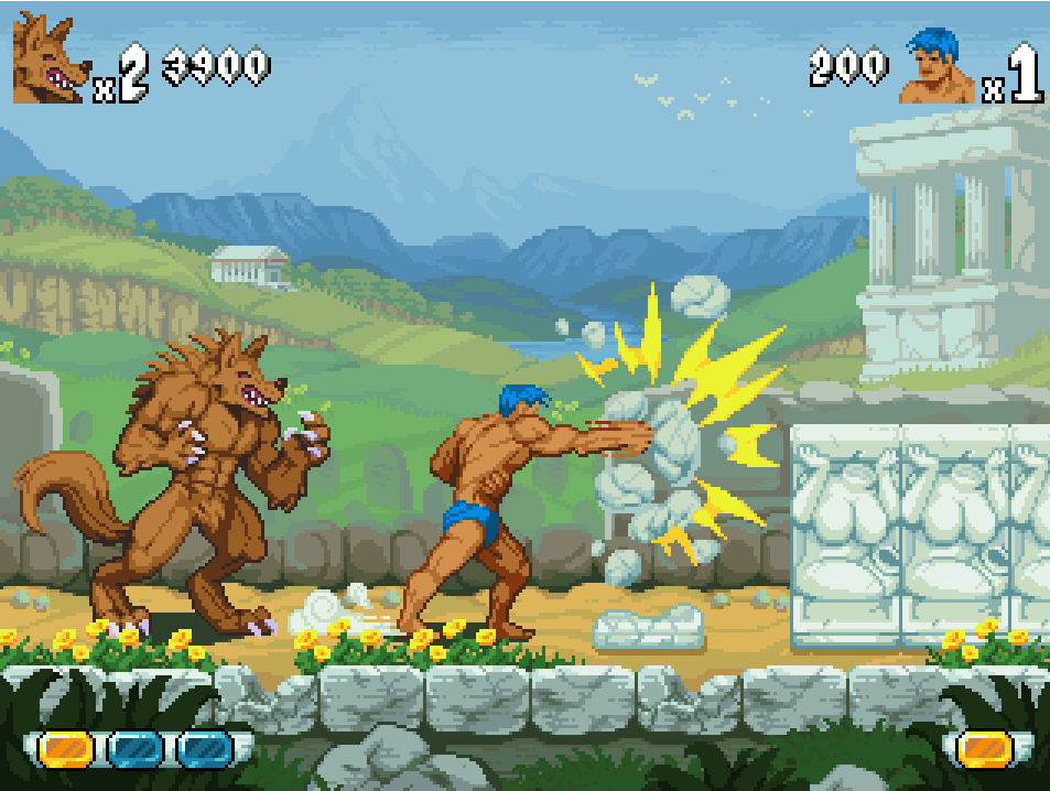 Altered Beast Remastered