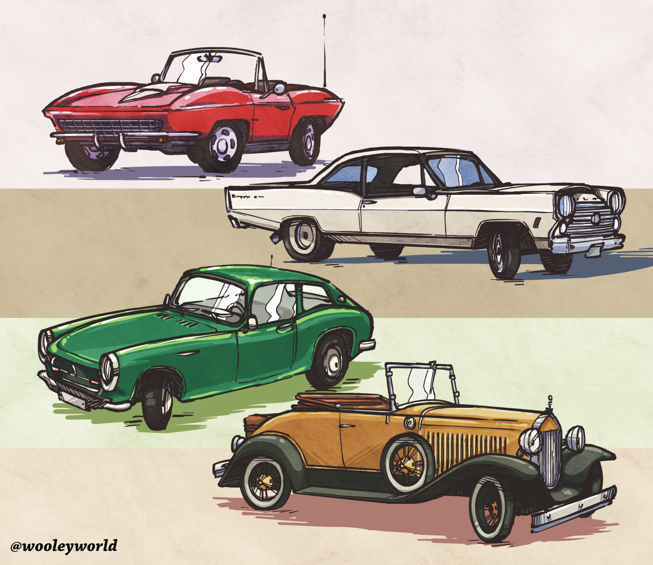 Practice with Cars.
