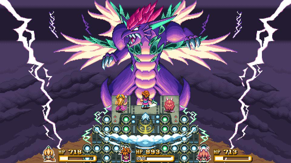 Mana Beast Boss Battle Demake