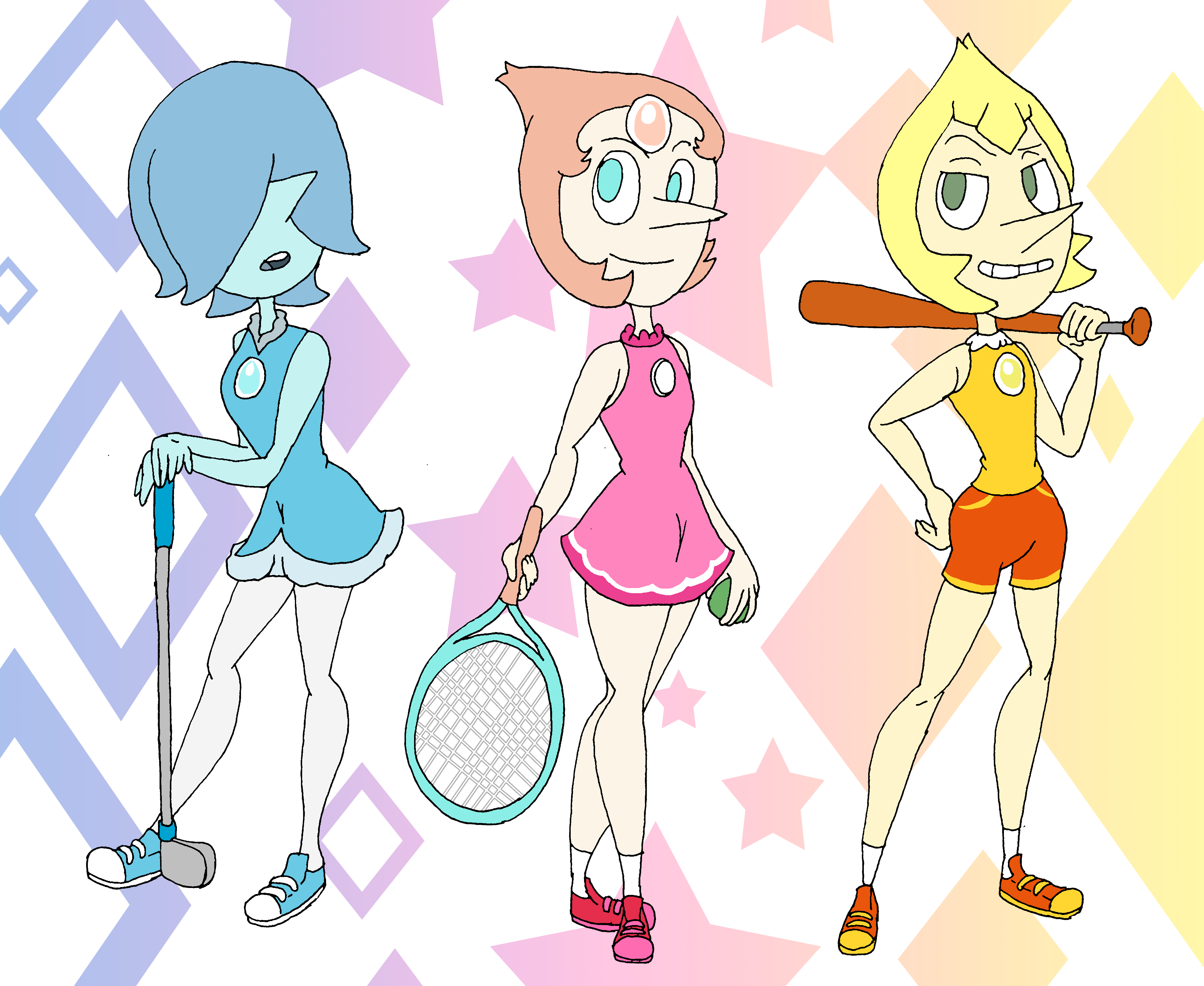 Sporty Pearls