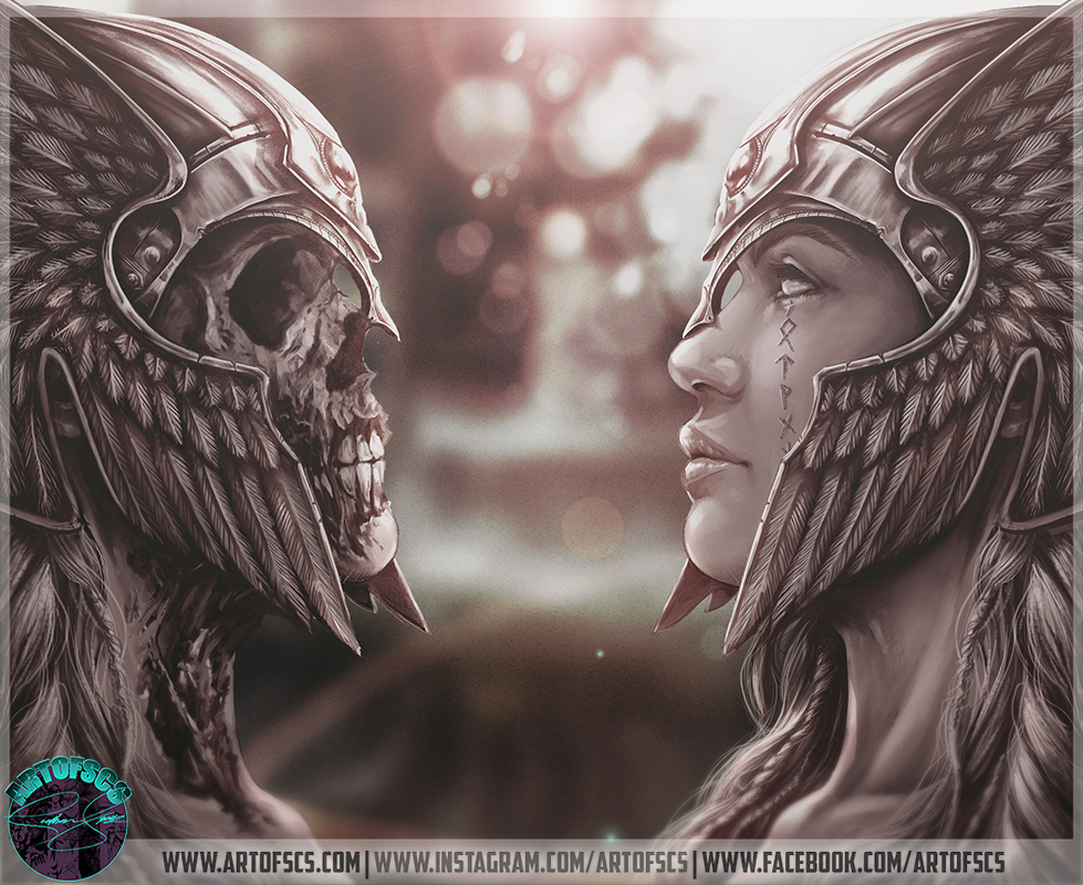 Valkyrie and Undead