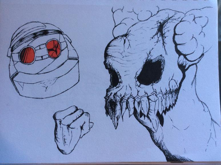 Skeletal Clown
