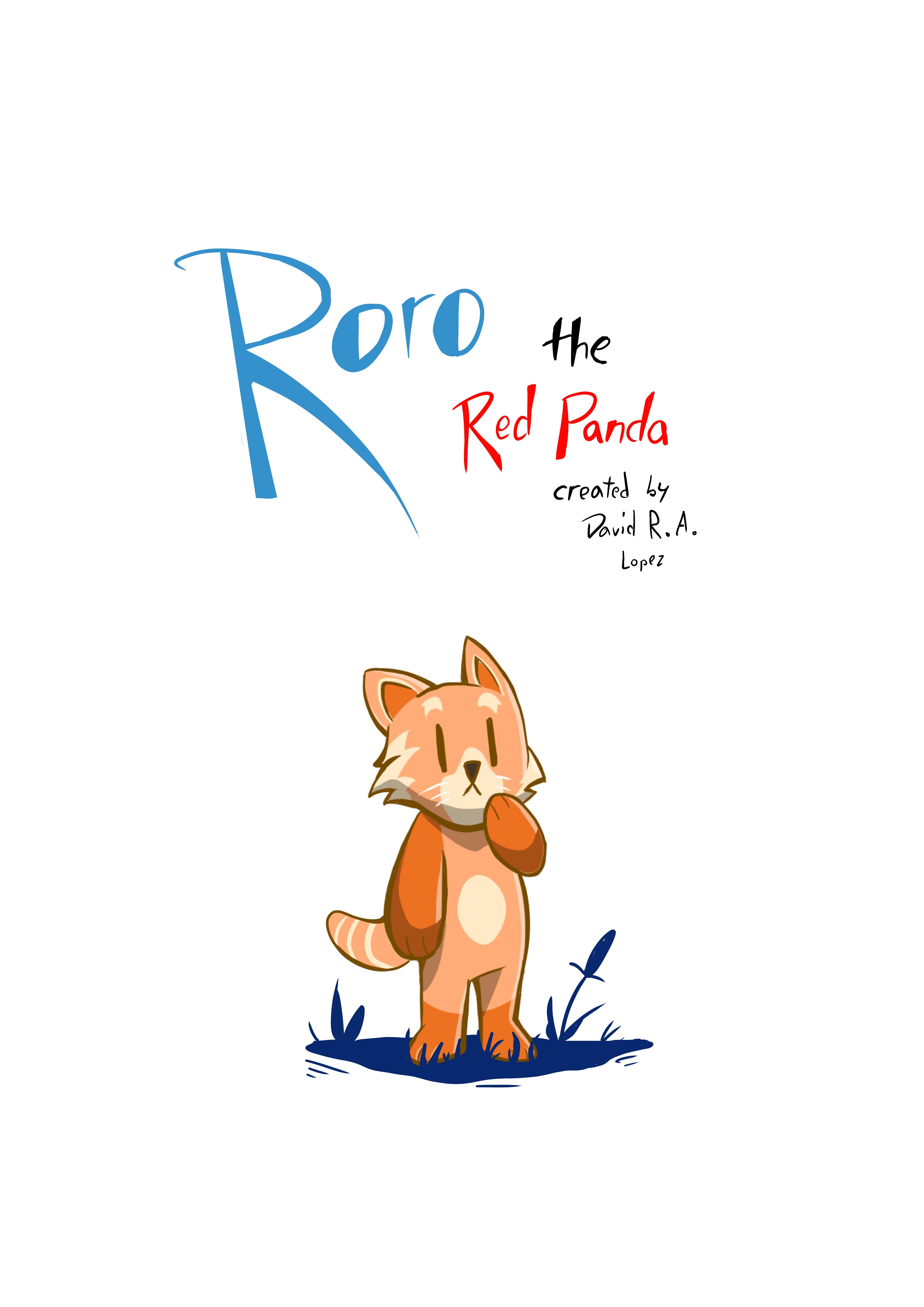 Roro The Red Panda