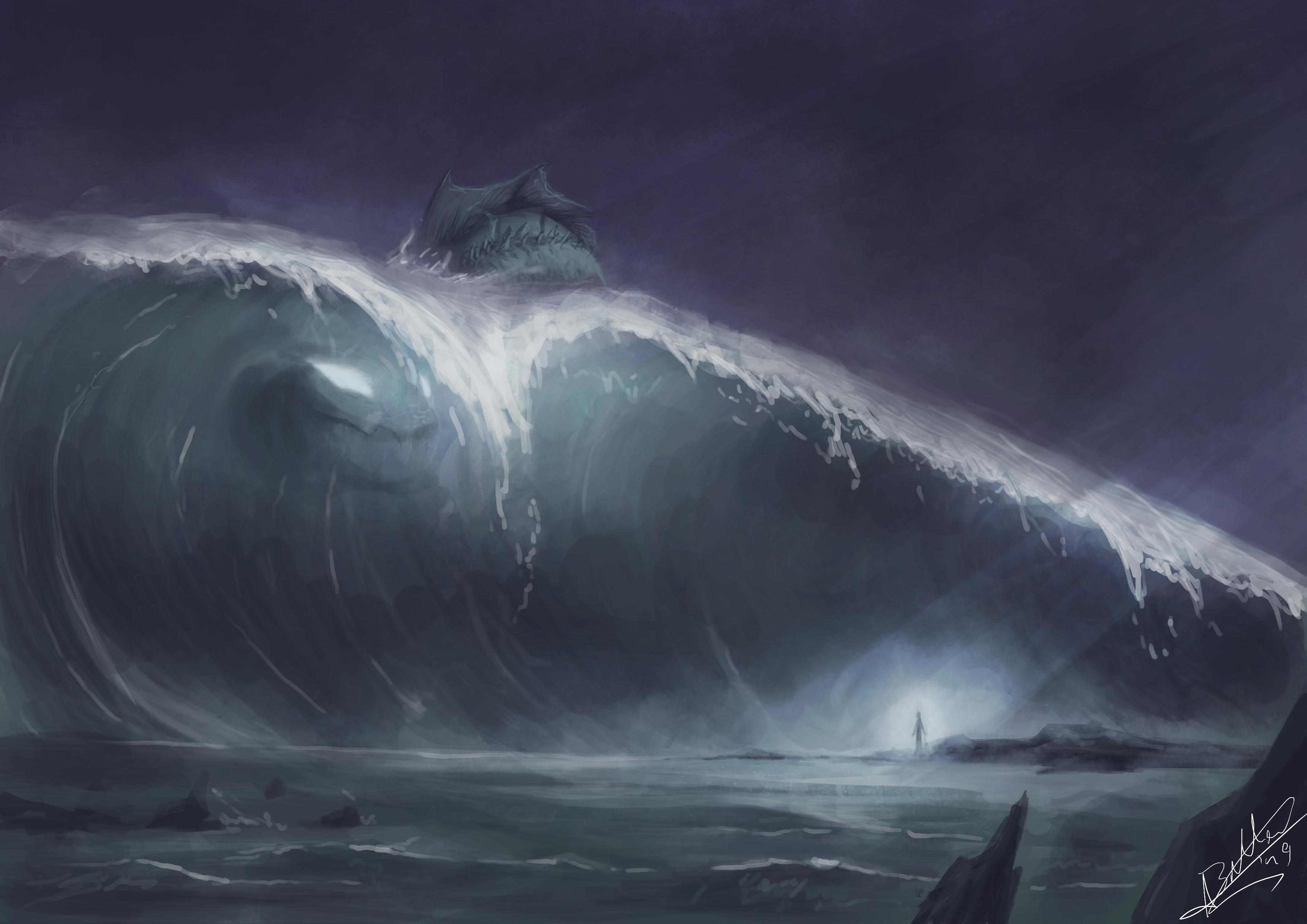 Speedpaint |ocean terrors