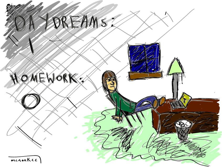 homework vs. dreamz