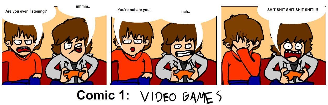 Comic 1: VideoGames