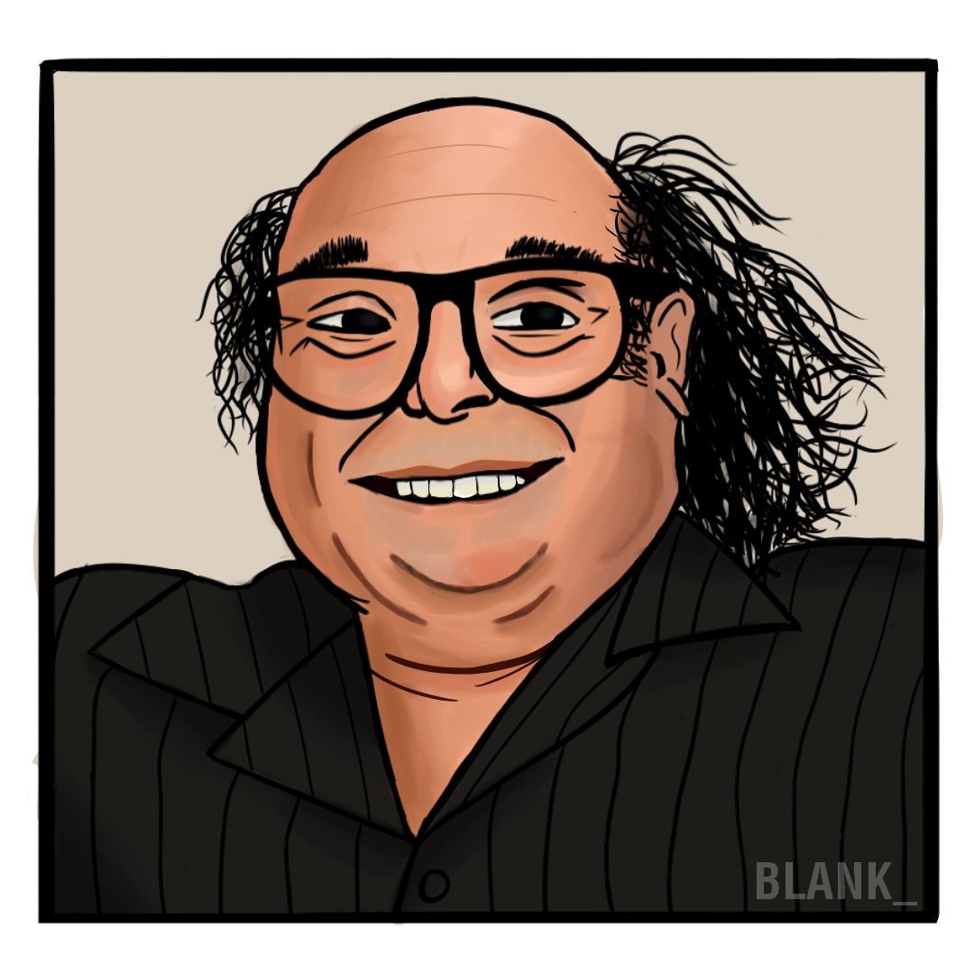 Danny Devito Art Painting