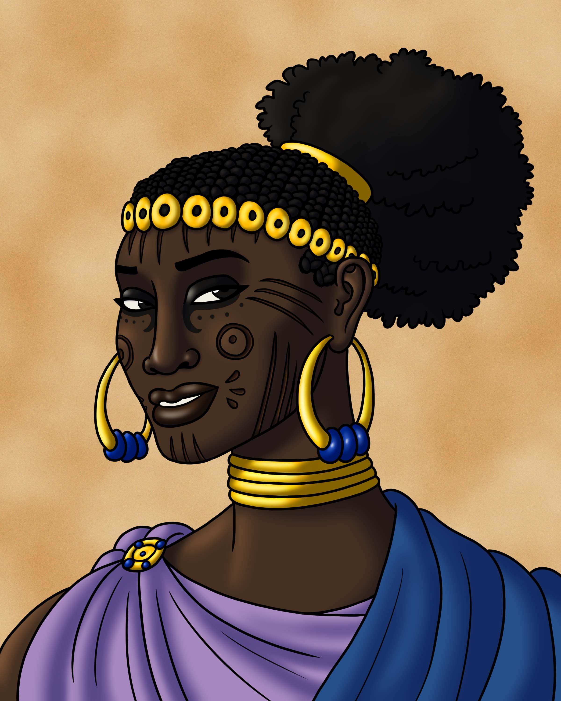 Queen of the Garamantes