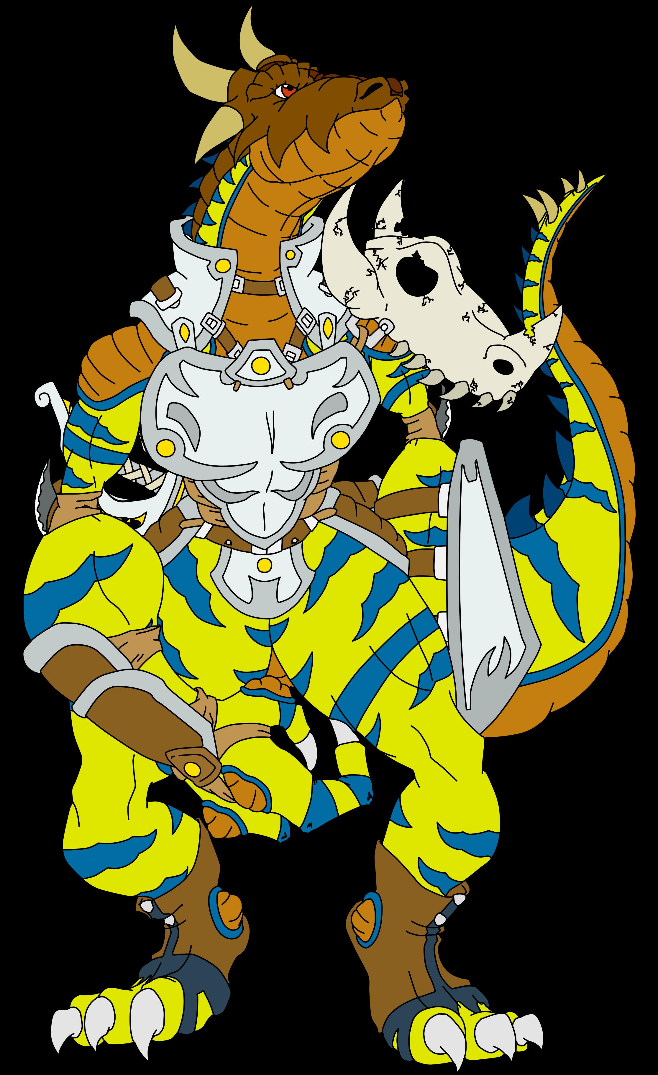 Kendugormon, the Greymon Hunter