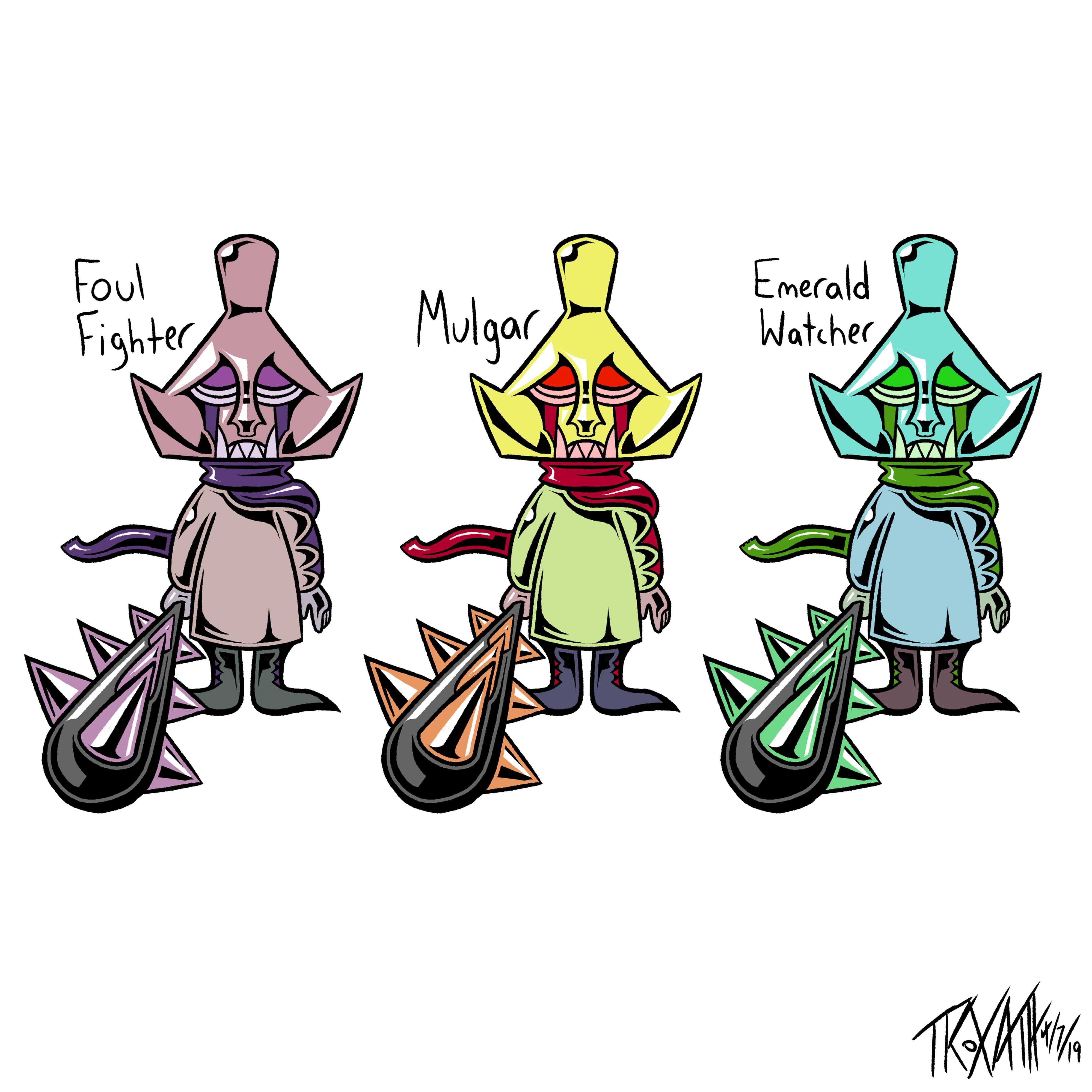Mulgar Variants