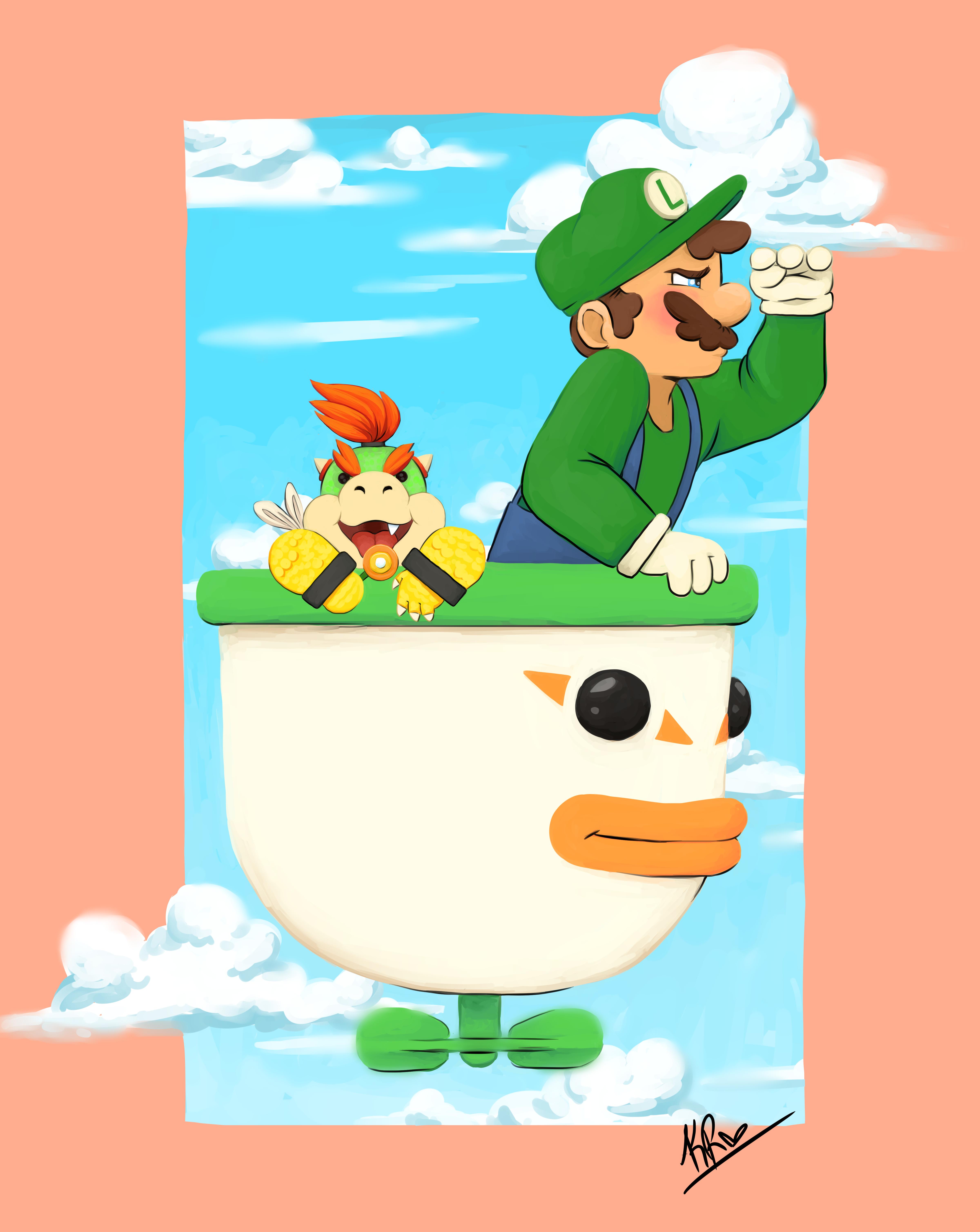Luigi and son