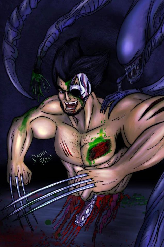 Wolverine vs Alien