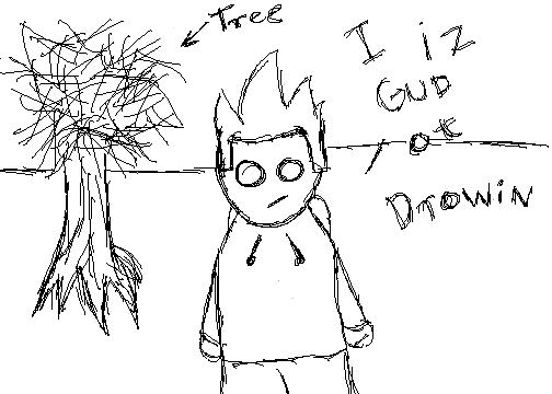 I iz gud at drawing