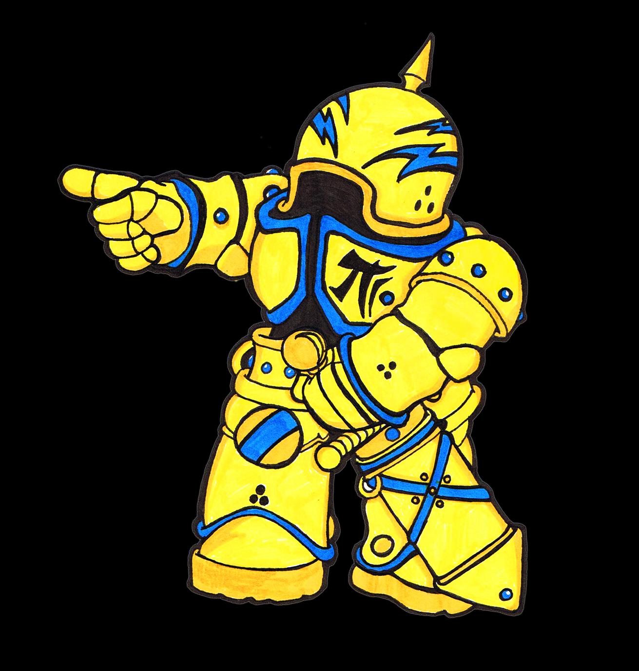 The little Robo-Knight