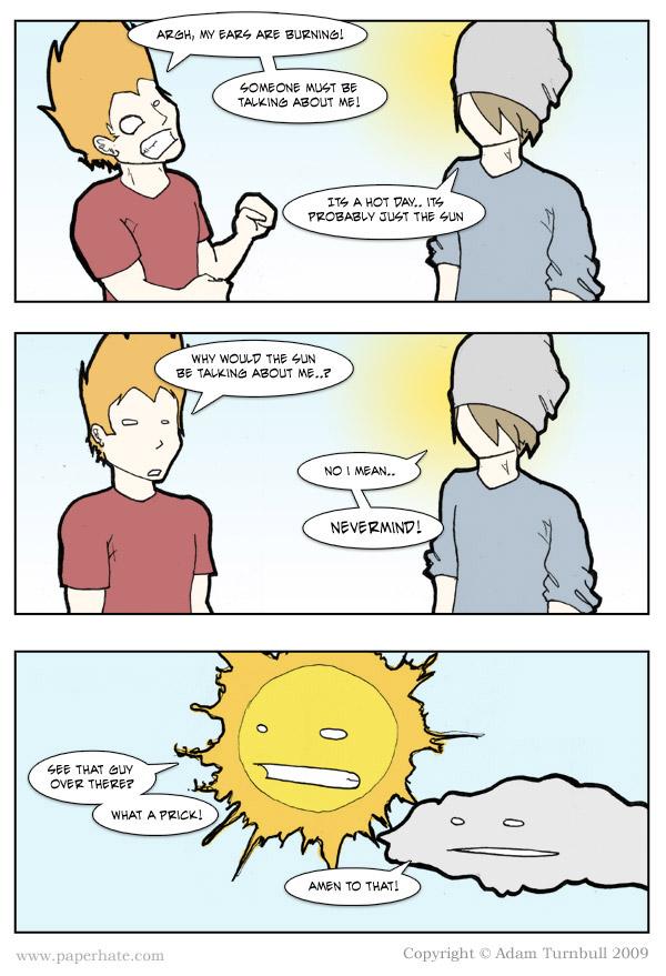 Comic: Burned