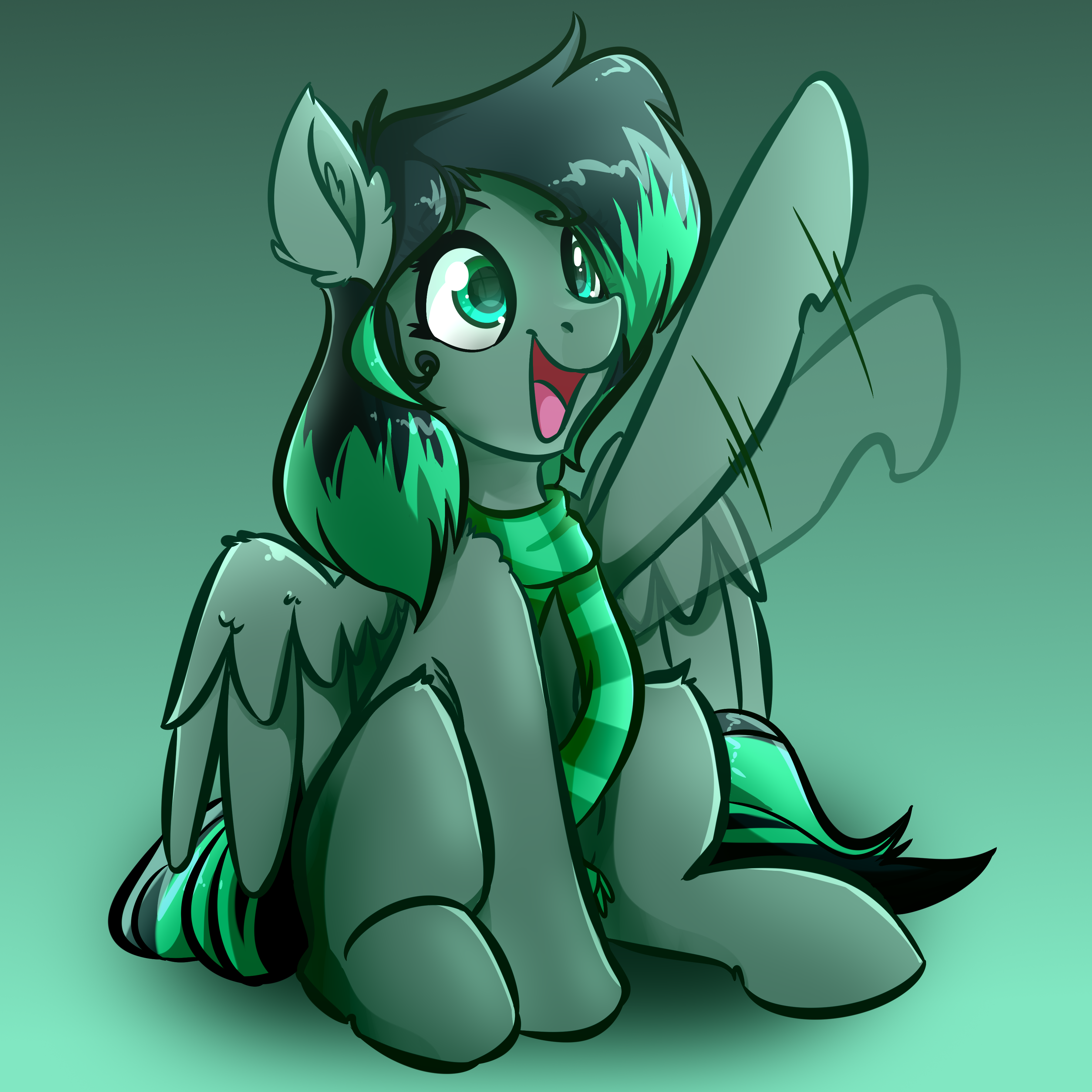 Green Scarf Horse Commission
