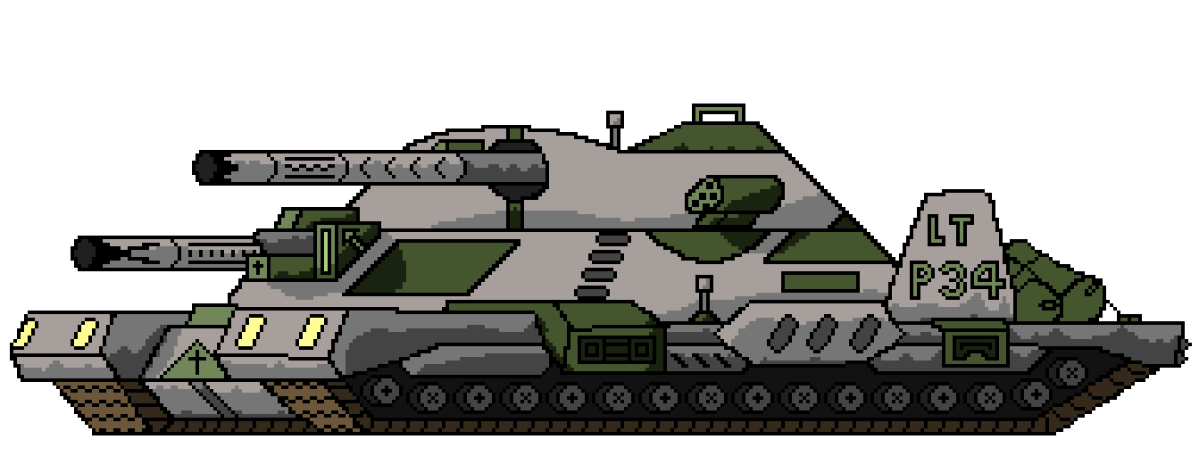 Lithuanian Project 34 Tank