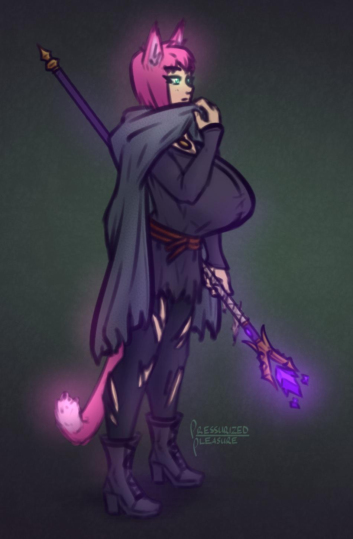 Doodles - Kat witch