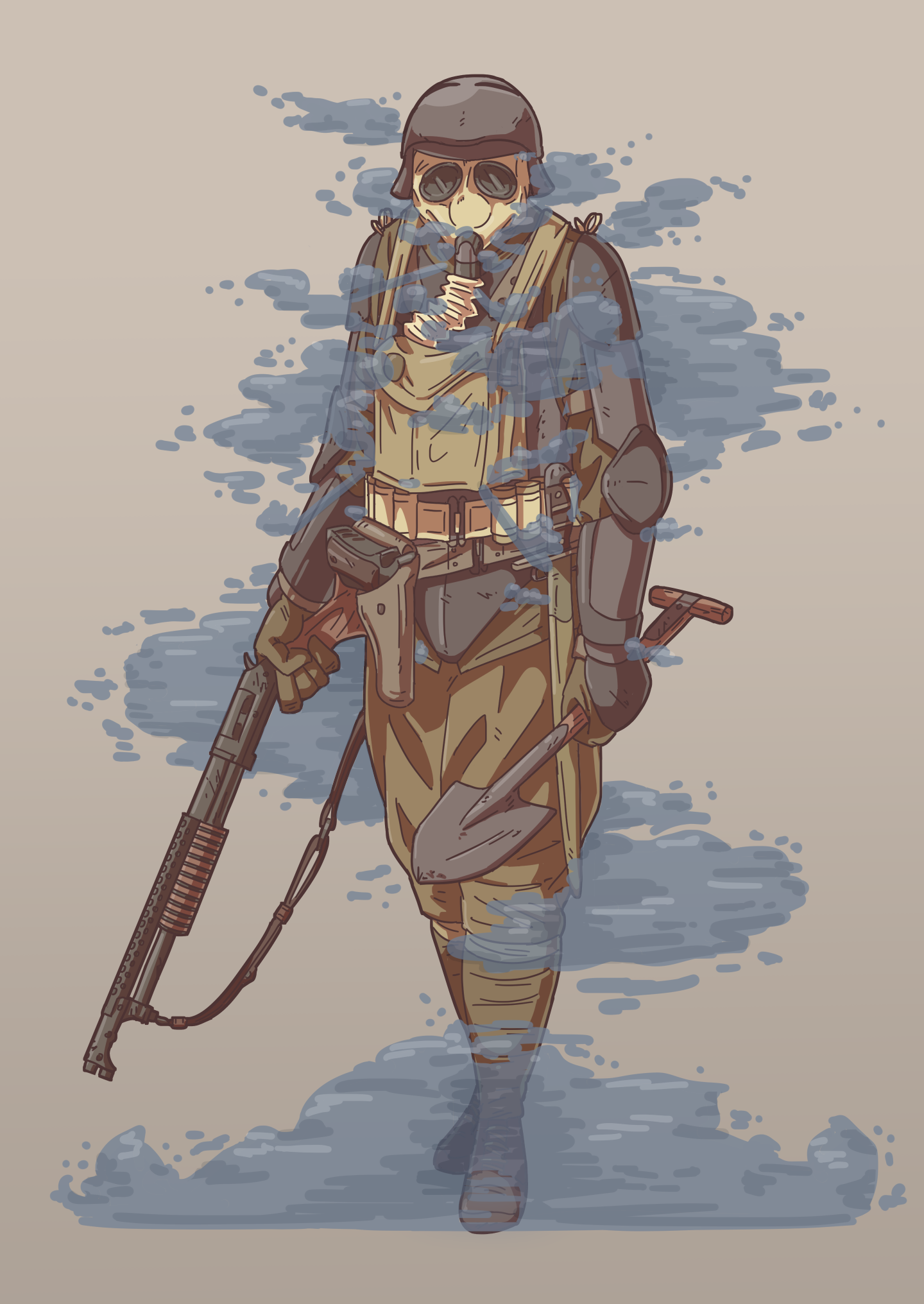 Animated Soldier