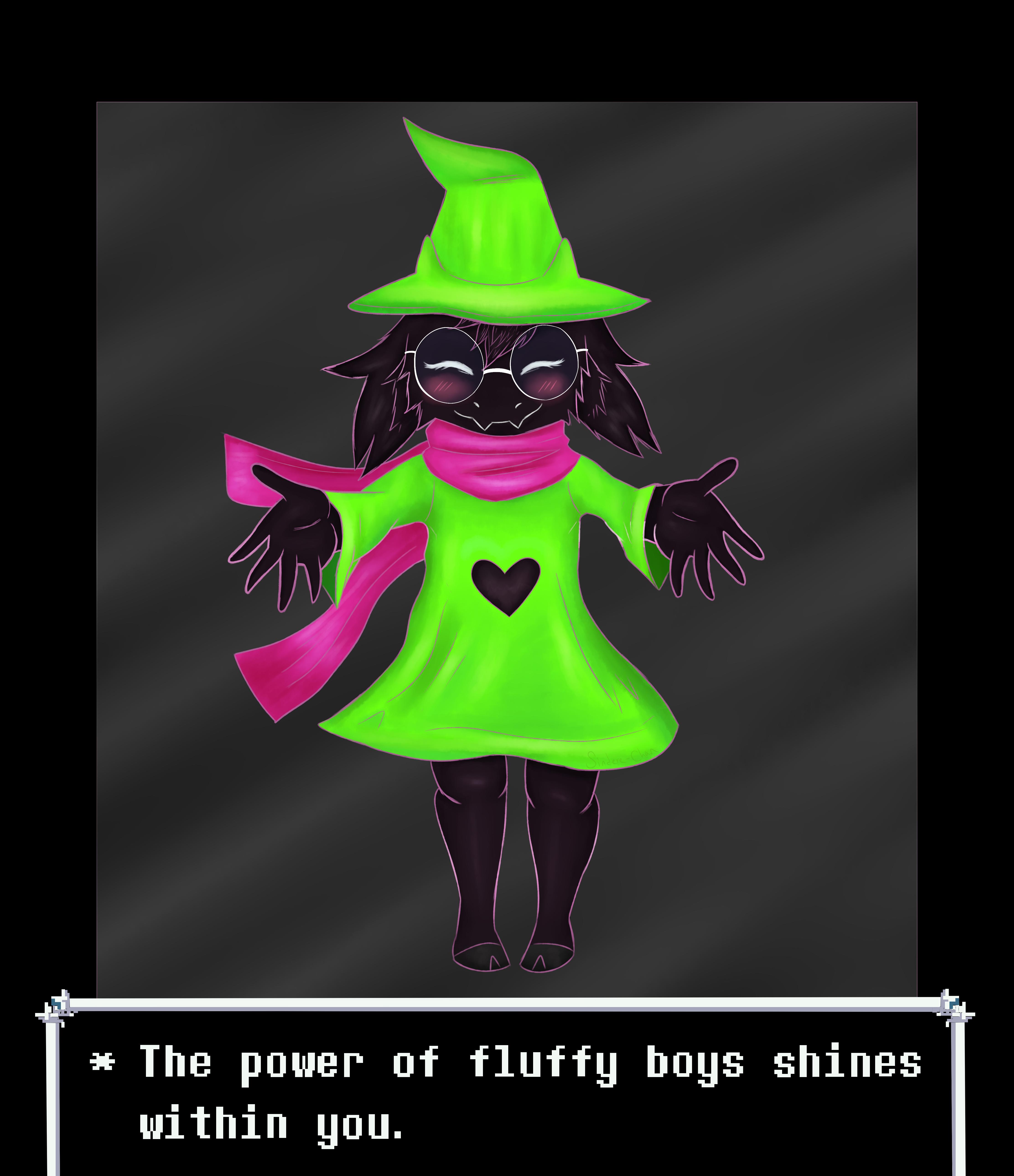 The Power of Fluffy Boys