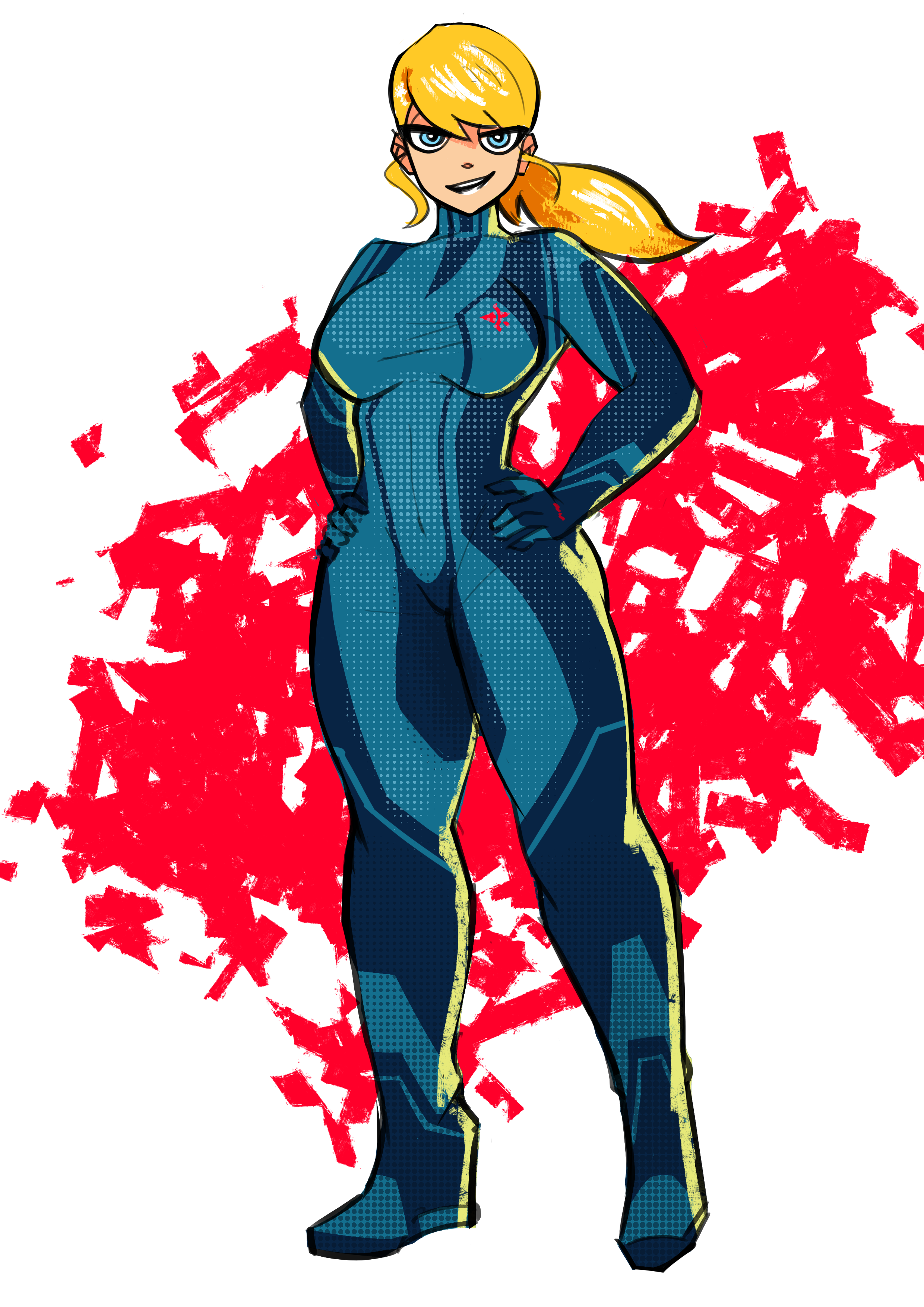 SR zero suit samus