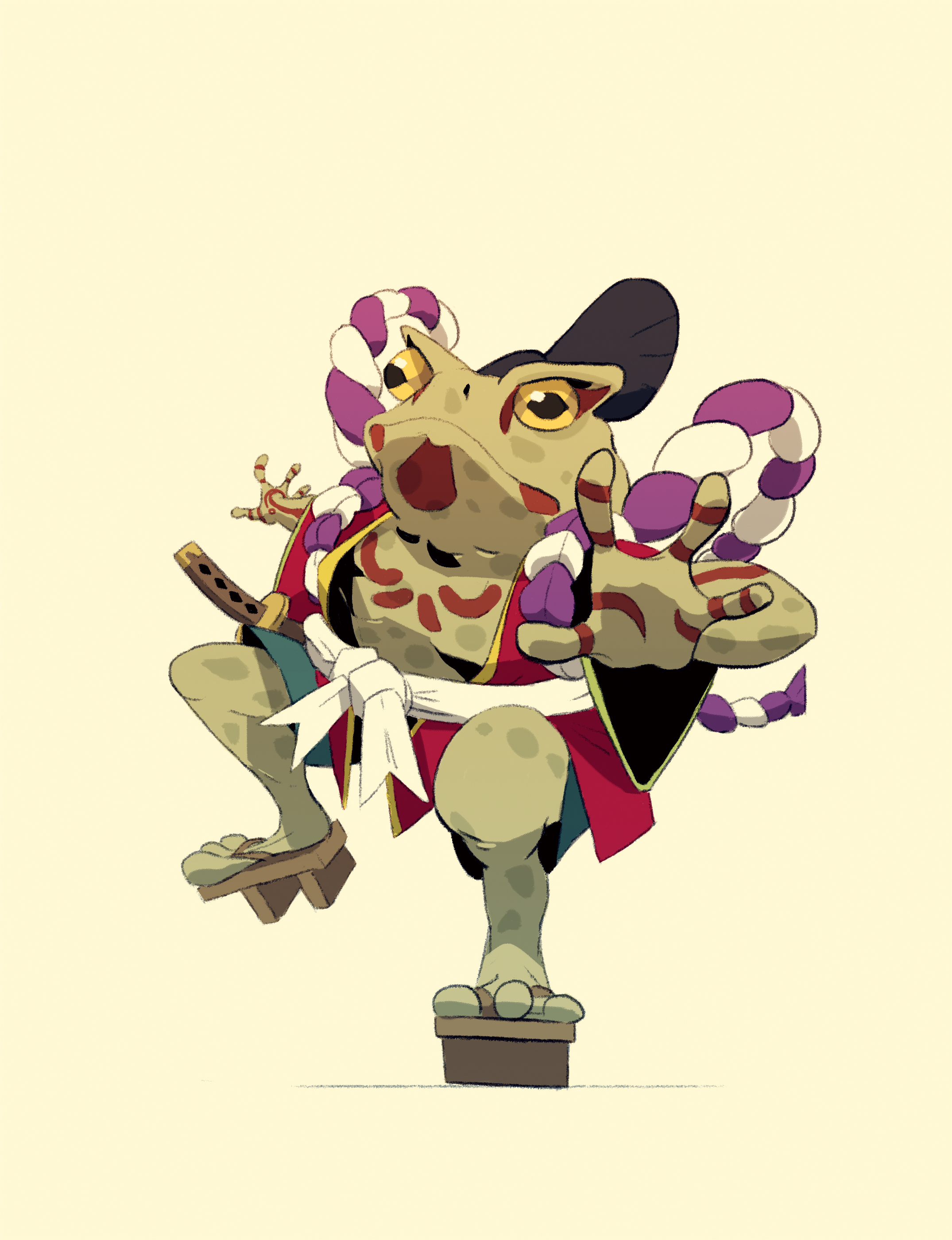 Kabuki Toad