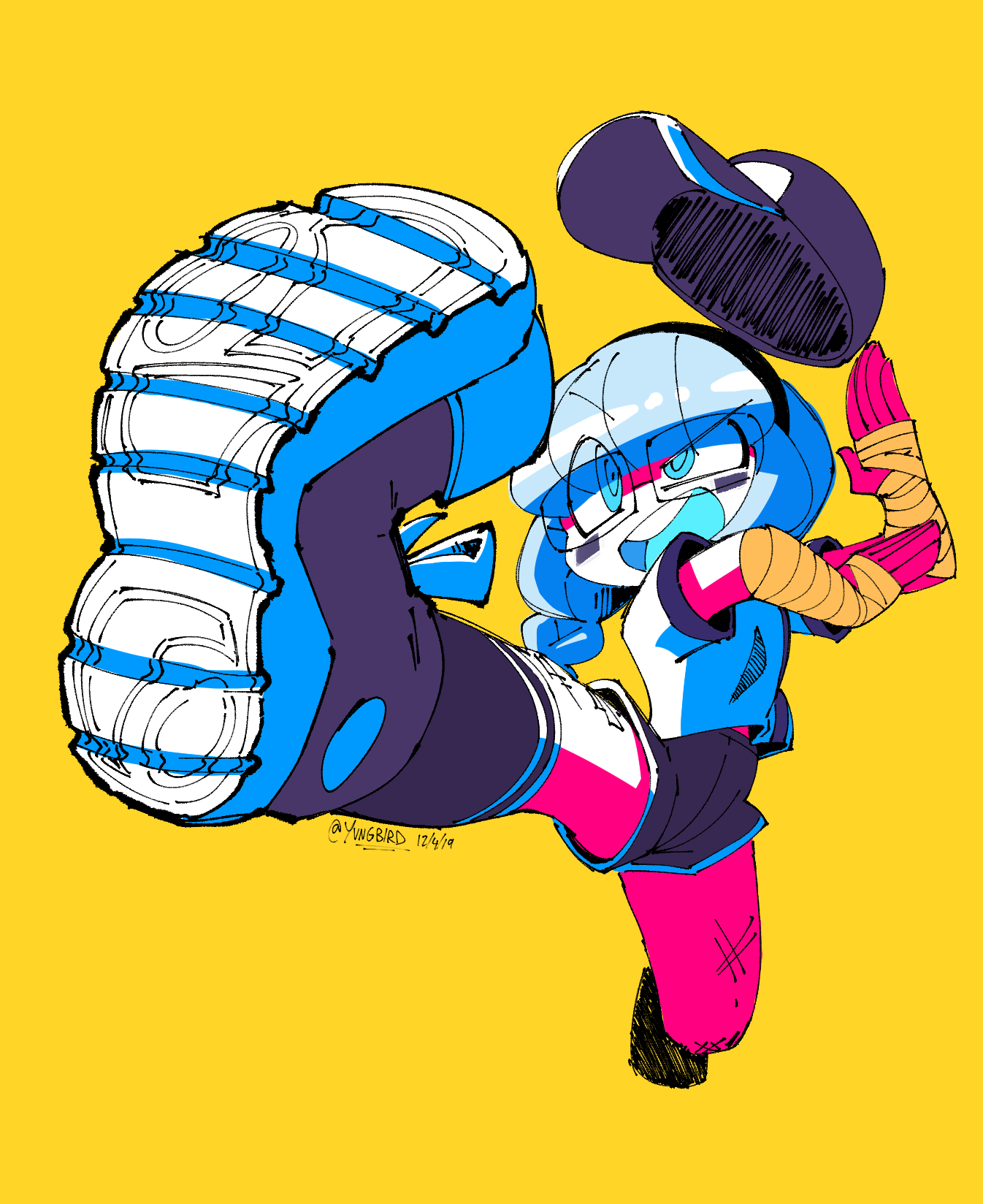 power kick!!