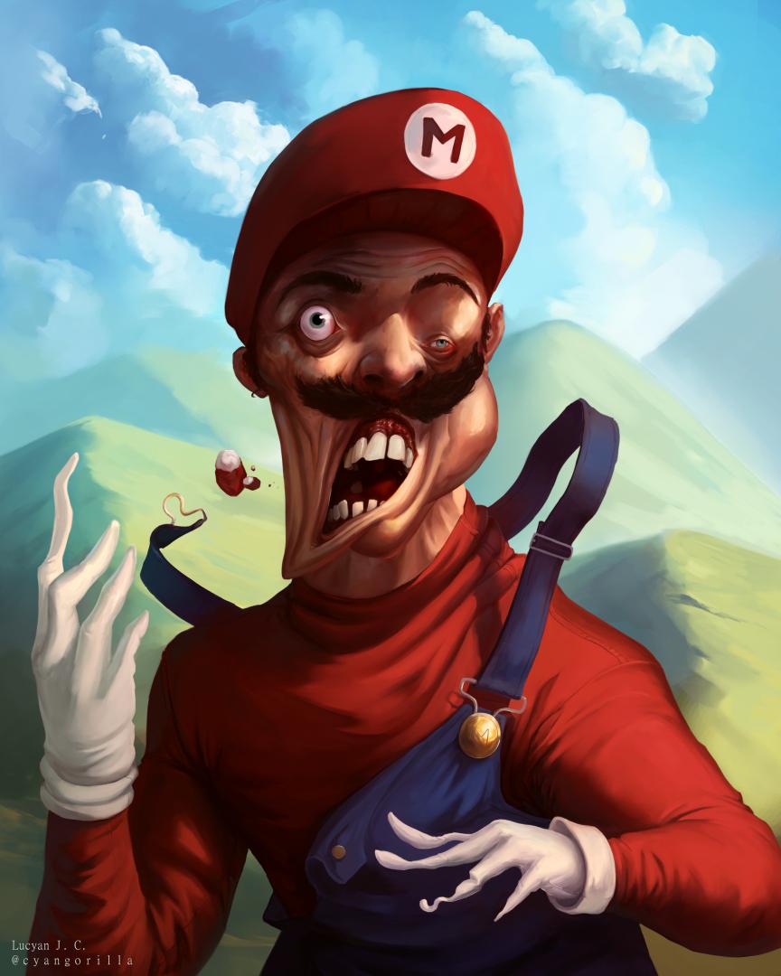 Super Mushroom In-Between